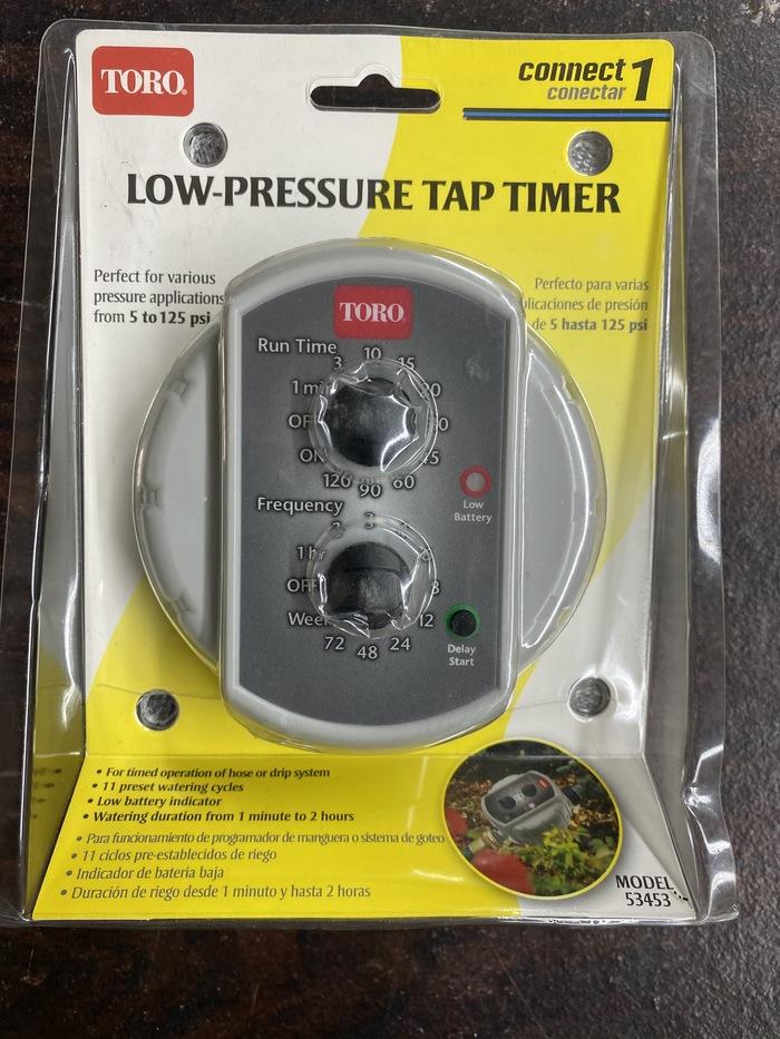 gaixample.org Light grey Toro 53453 Low-Pressure Tap Timer Garden ...
