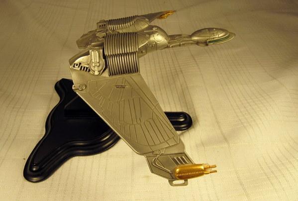 Franklin Mint Pewter Star Trek Klingon Disruptor 30th