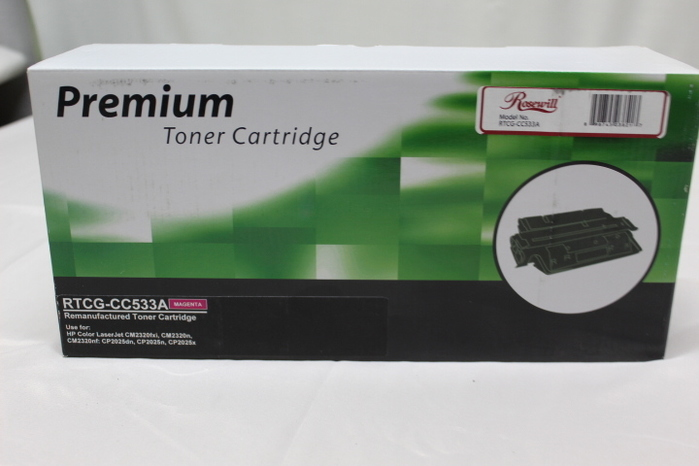 CC533A Magenta Toner Cartridge For HP Color LaserJet CM2320nf CM2320fxi CP2025x