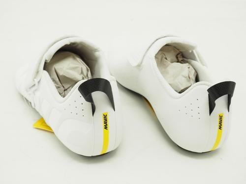 NEW White Mavic Cosmic Elite Tri Road Cycling Shoes US Men/'s Size 9 3 Bolt