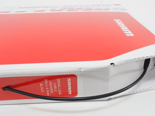 New SRAM Derailleur Cable Housing Box 30 Meters x 4.0mm Black 00.7115.003.000