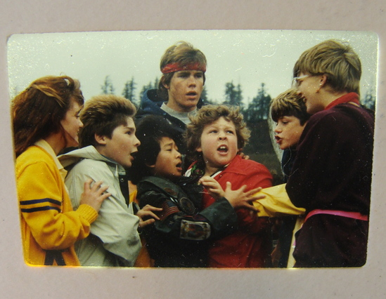The Goonies Movie 28 Original Photo Slides Warner Bros Studio 1985