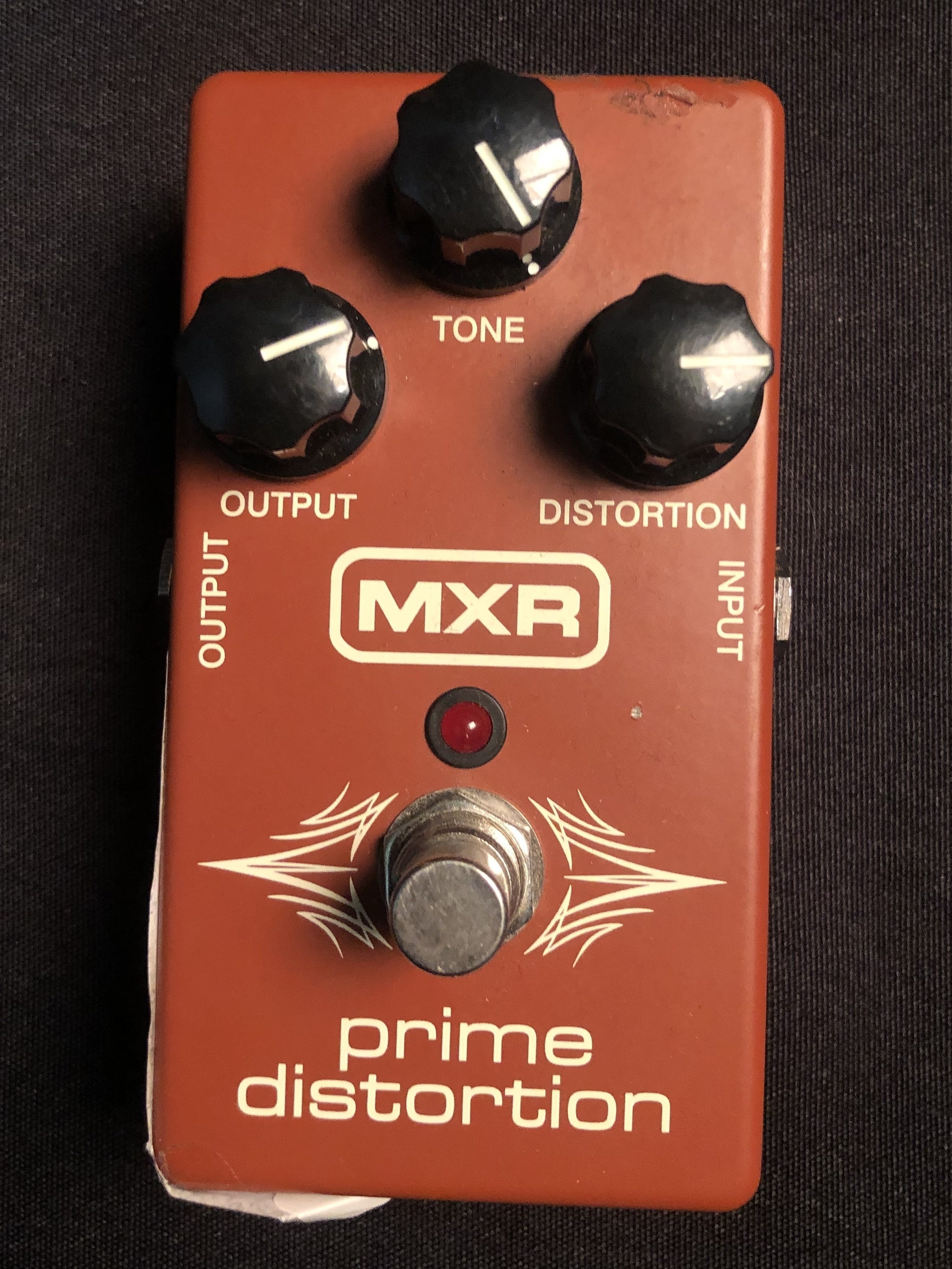 MXR - Prime Distortion Pedal