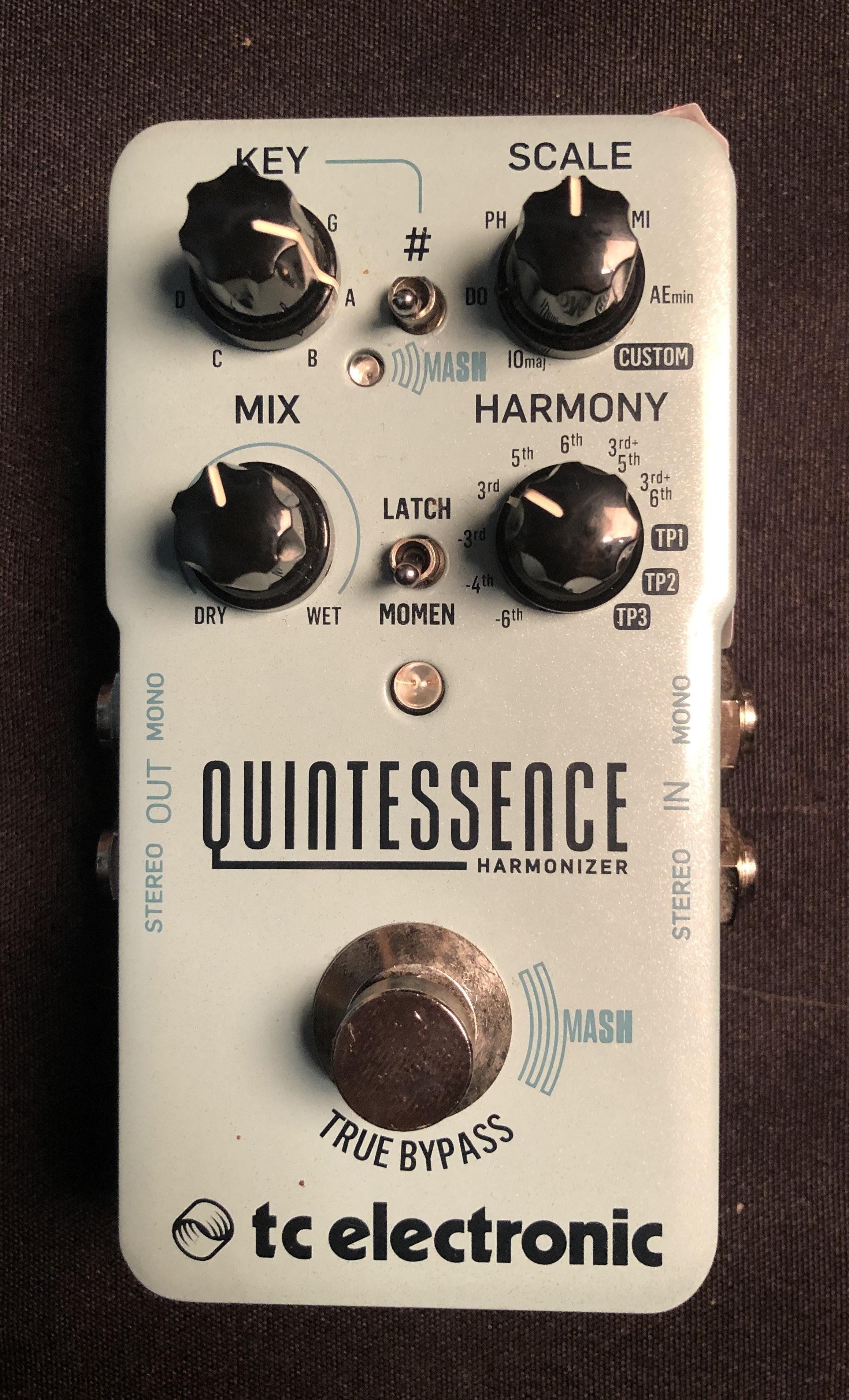 TC ELECTRONIC - Quintessence Harmony Pedal