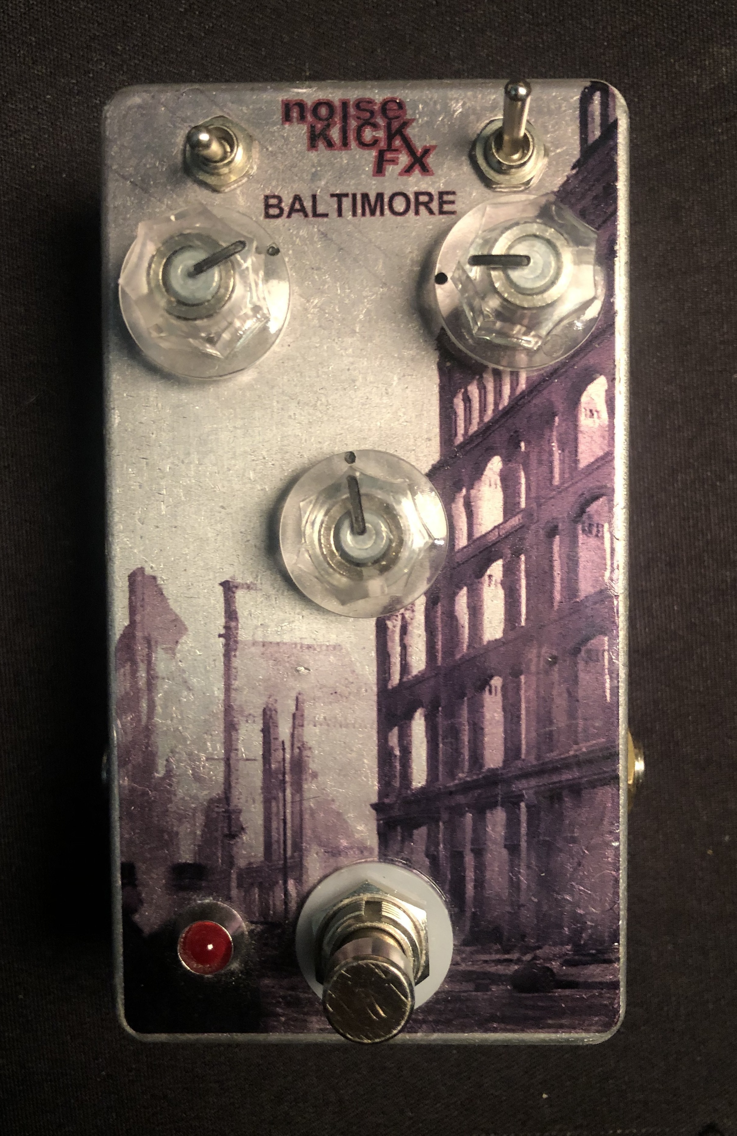 NOISEKICK FX - Baltimore Distortion Pedal