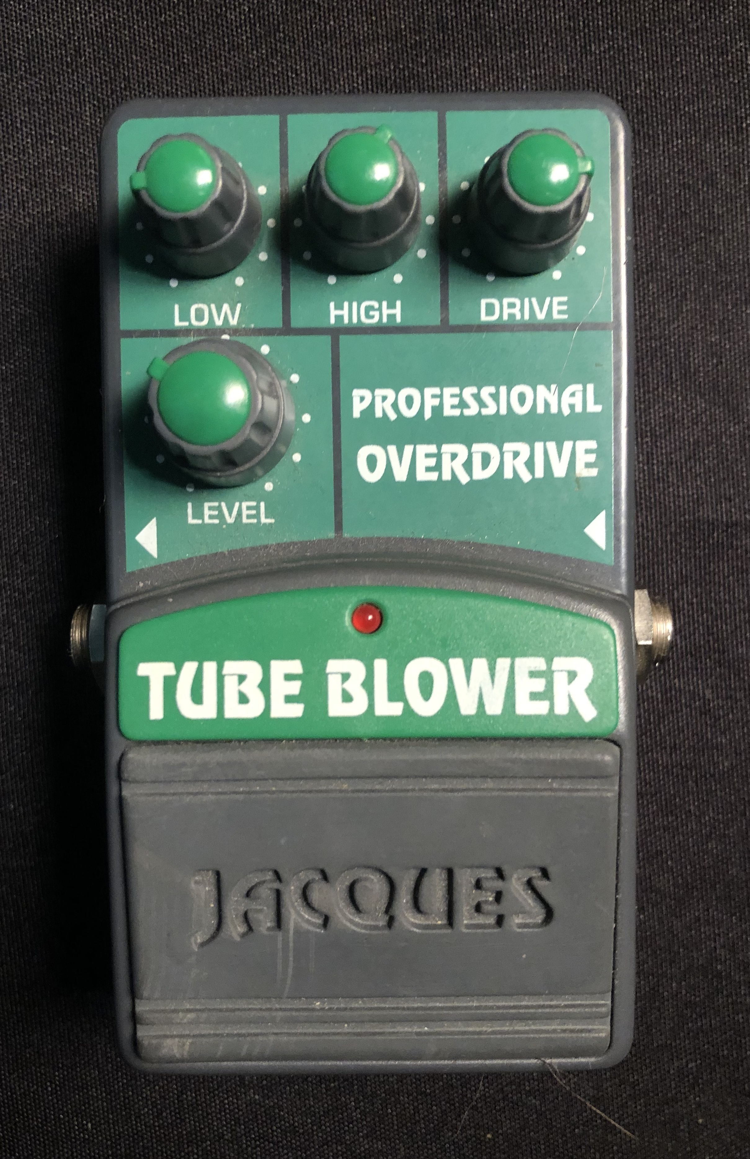 JACQUES - Tube Blower Professional Overdrive Pedal