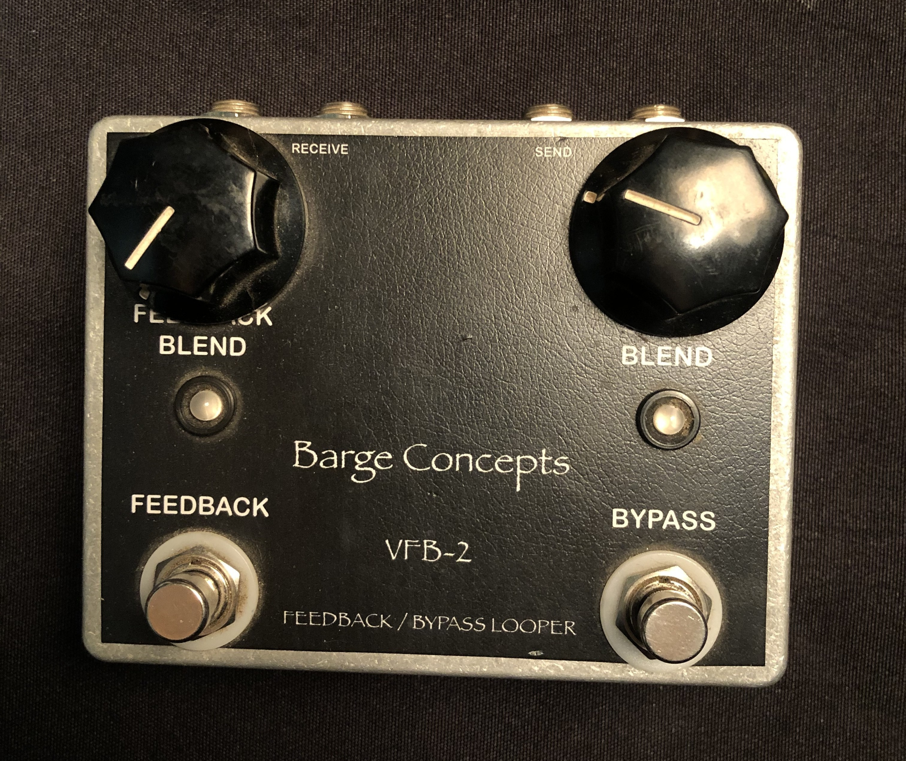 BARGE CONCEPTS - VFB-2 Feedback/Bypass Looper Pedal
