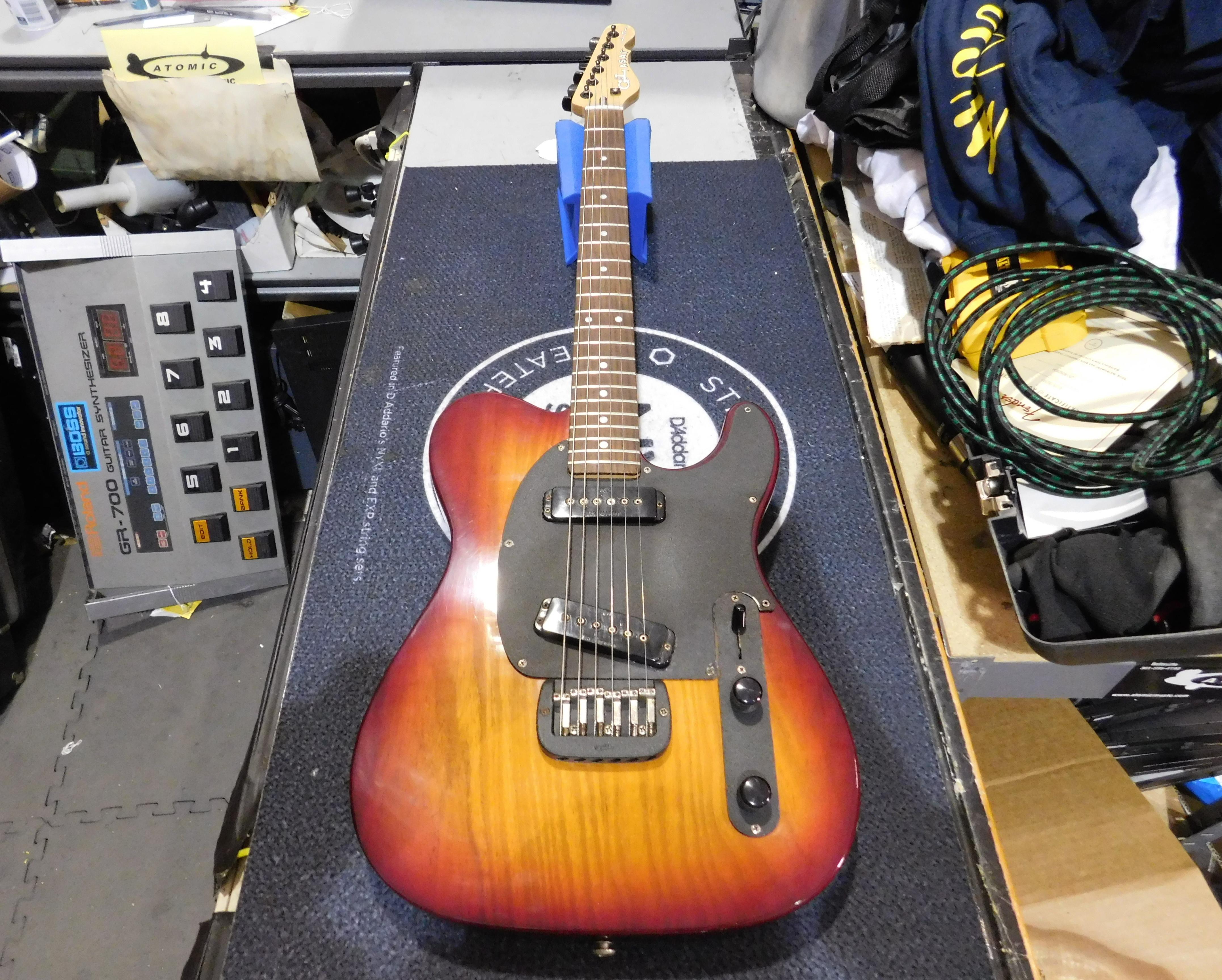 G&L ASAT Electric Guitar HSC Cherryburst
