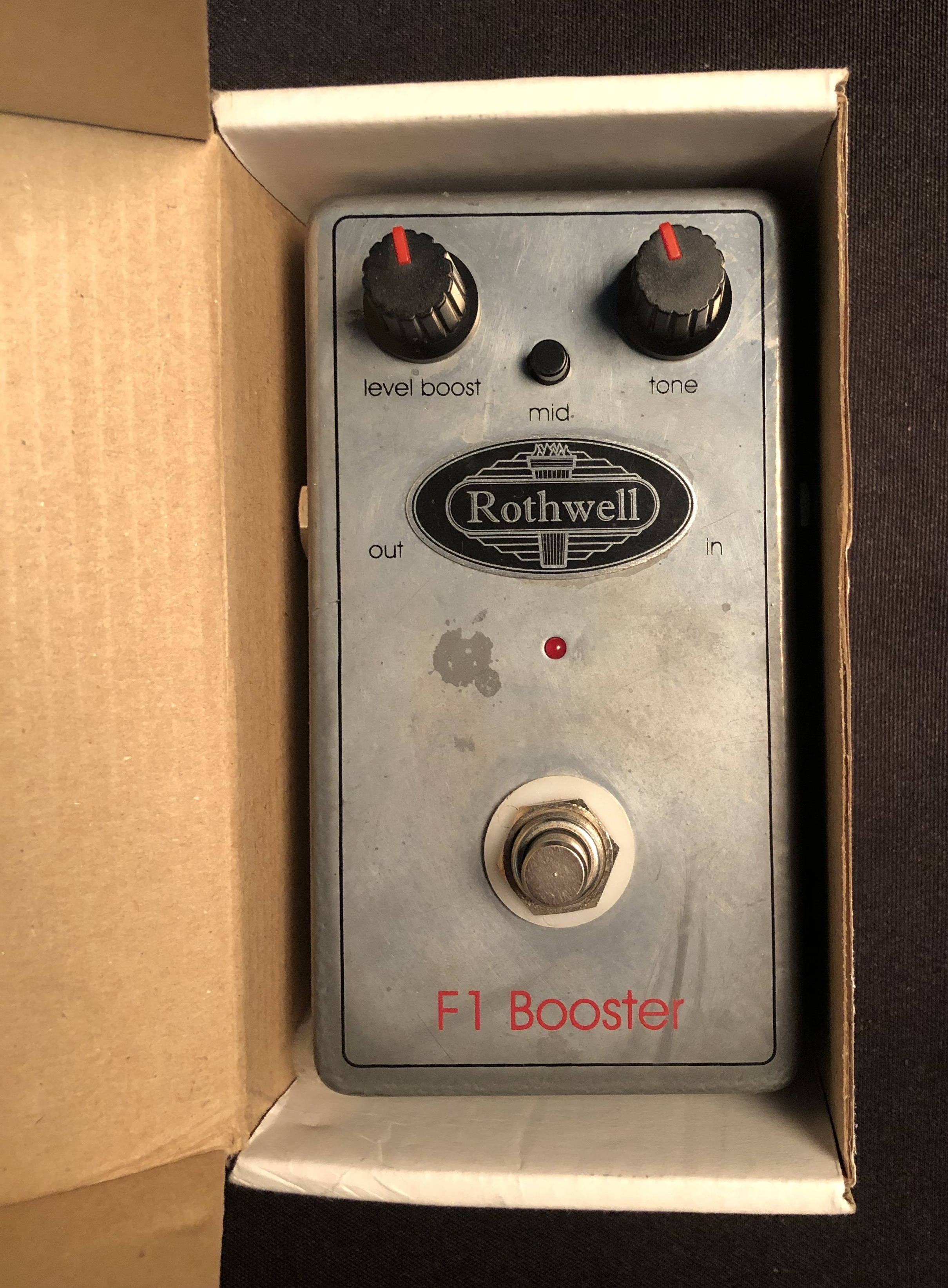 ROTHWELL - F1 Booster Pedal