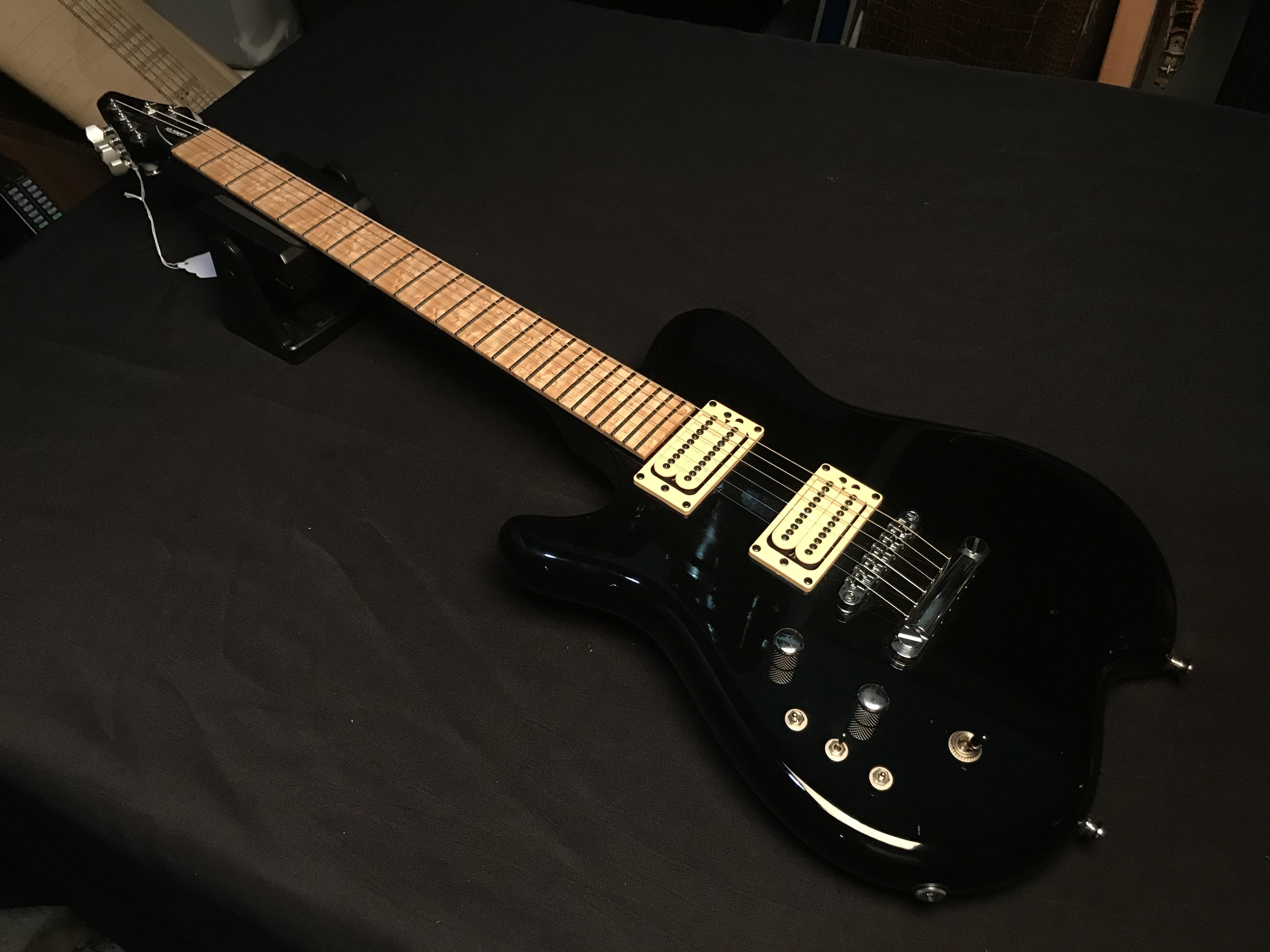 CARVIN HOLDSWORTH Left Handed Black Electric Guitar HSC