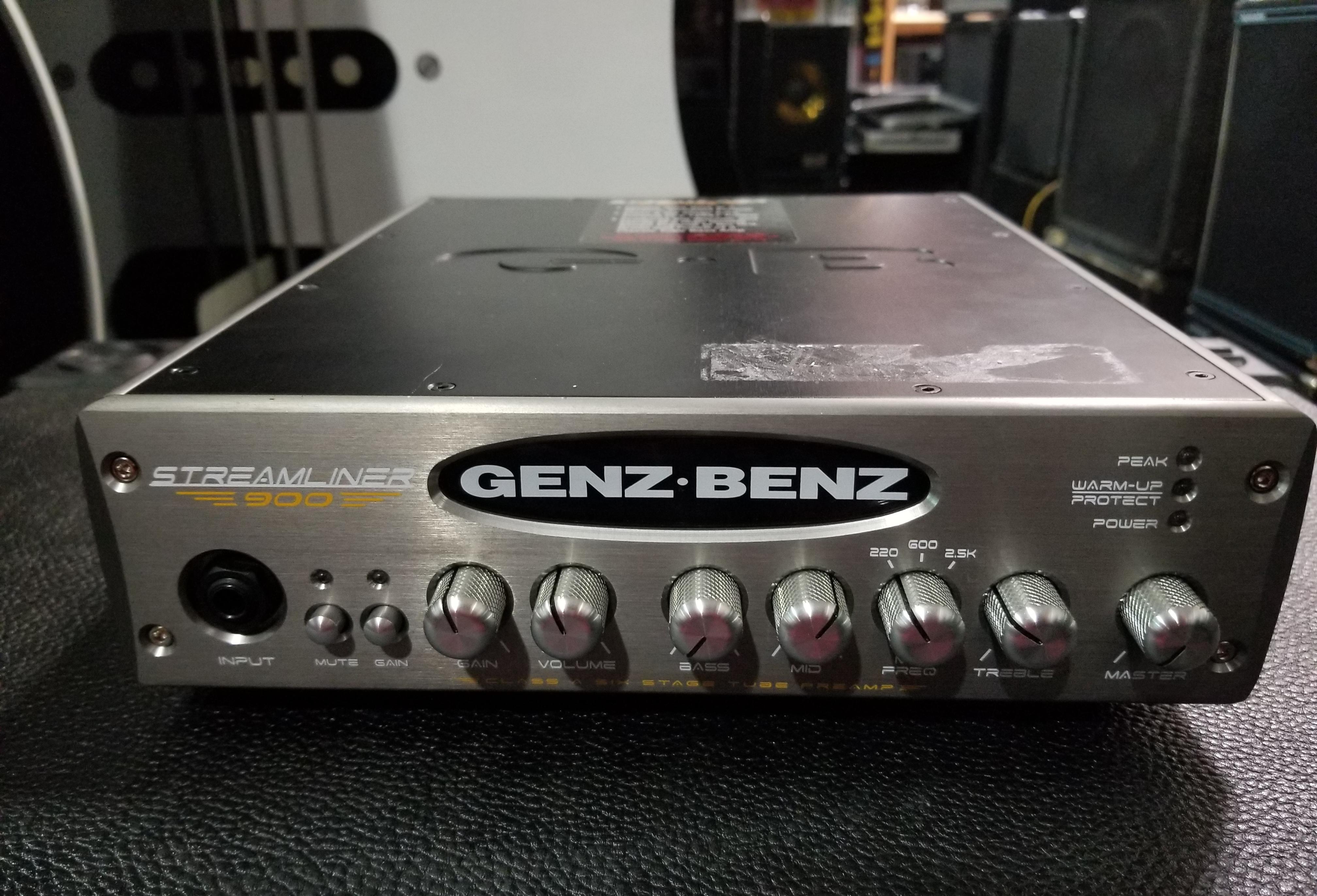 GENZ BENZ STREAMLINER 900 900-Watt Bass Amp Head