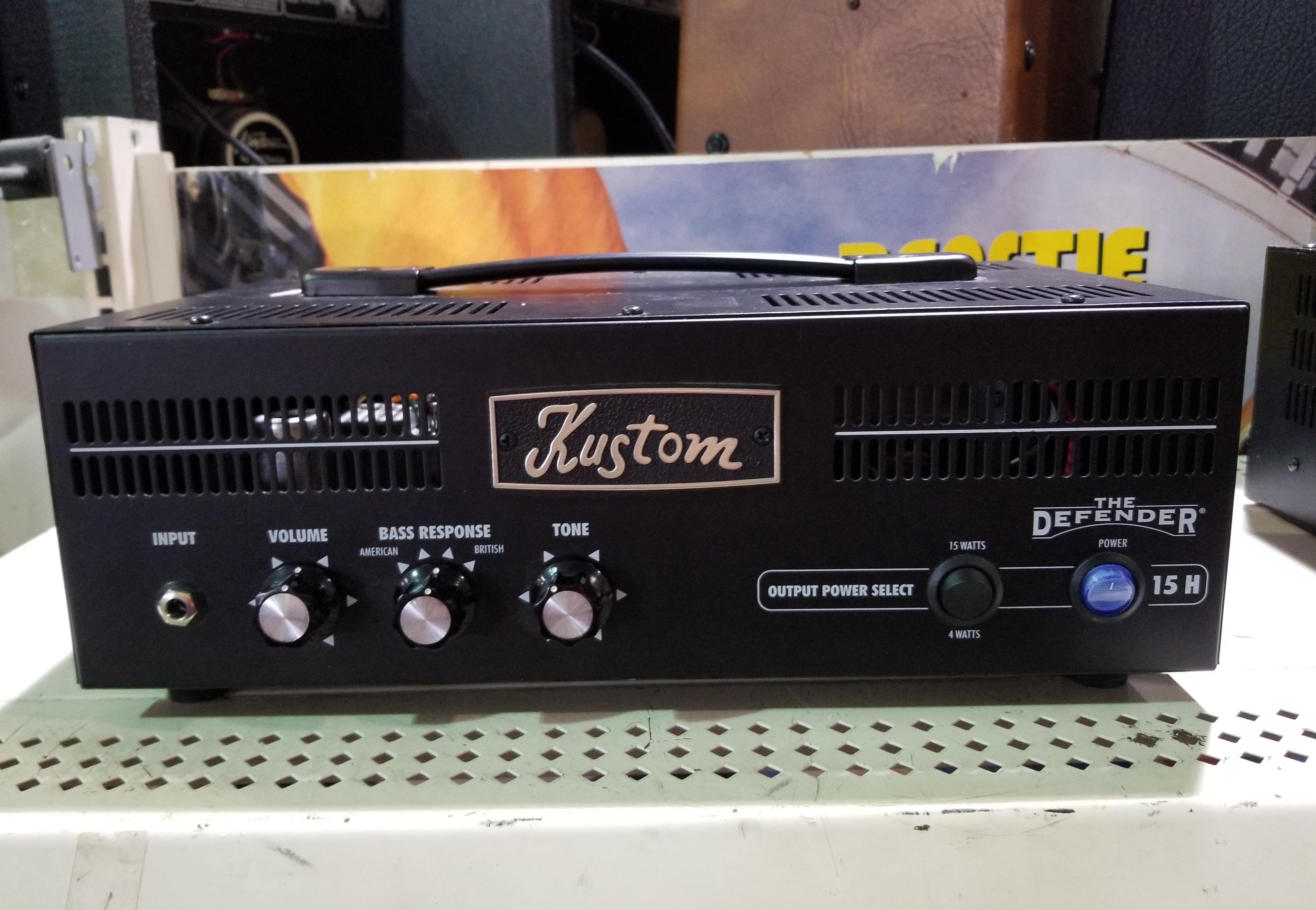 KUSTOM DEFENDER 15H 15-Watt Tube Guitar Amp Head