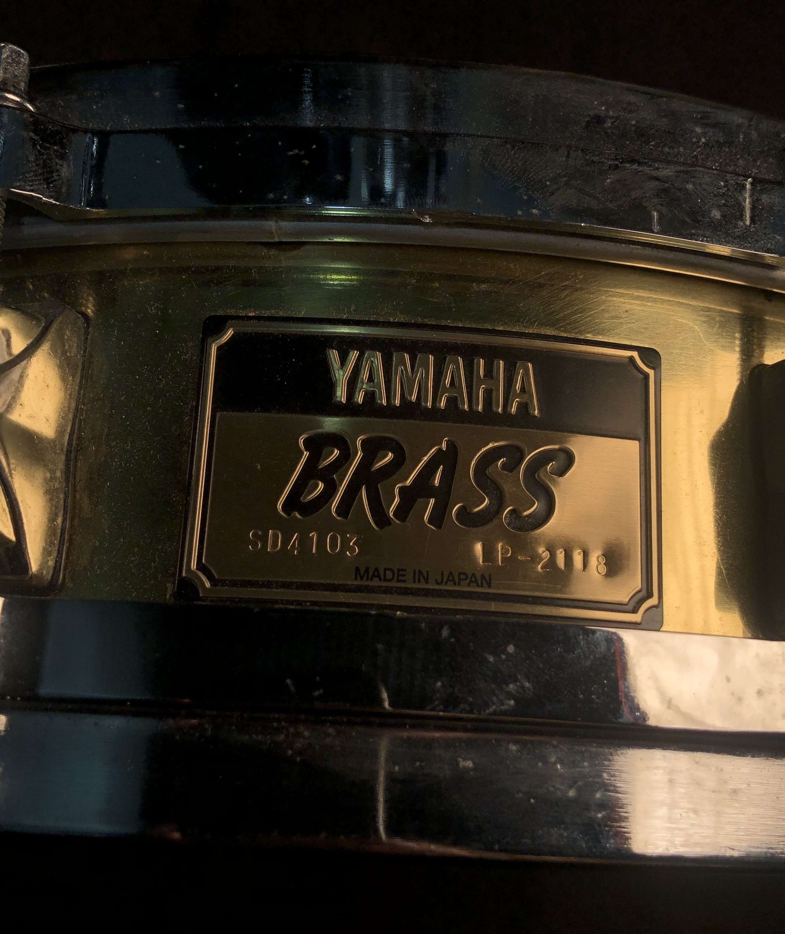YAMAHA - Brass Piccolo Snare Drum 14