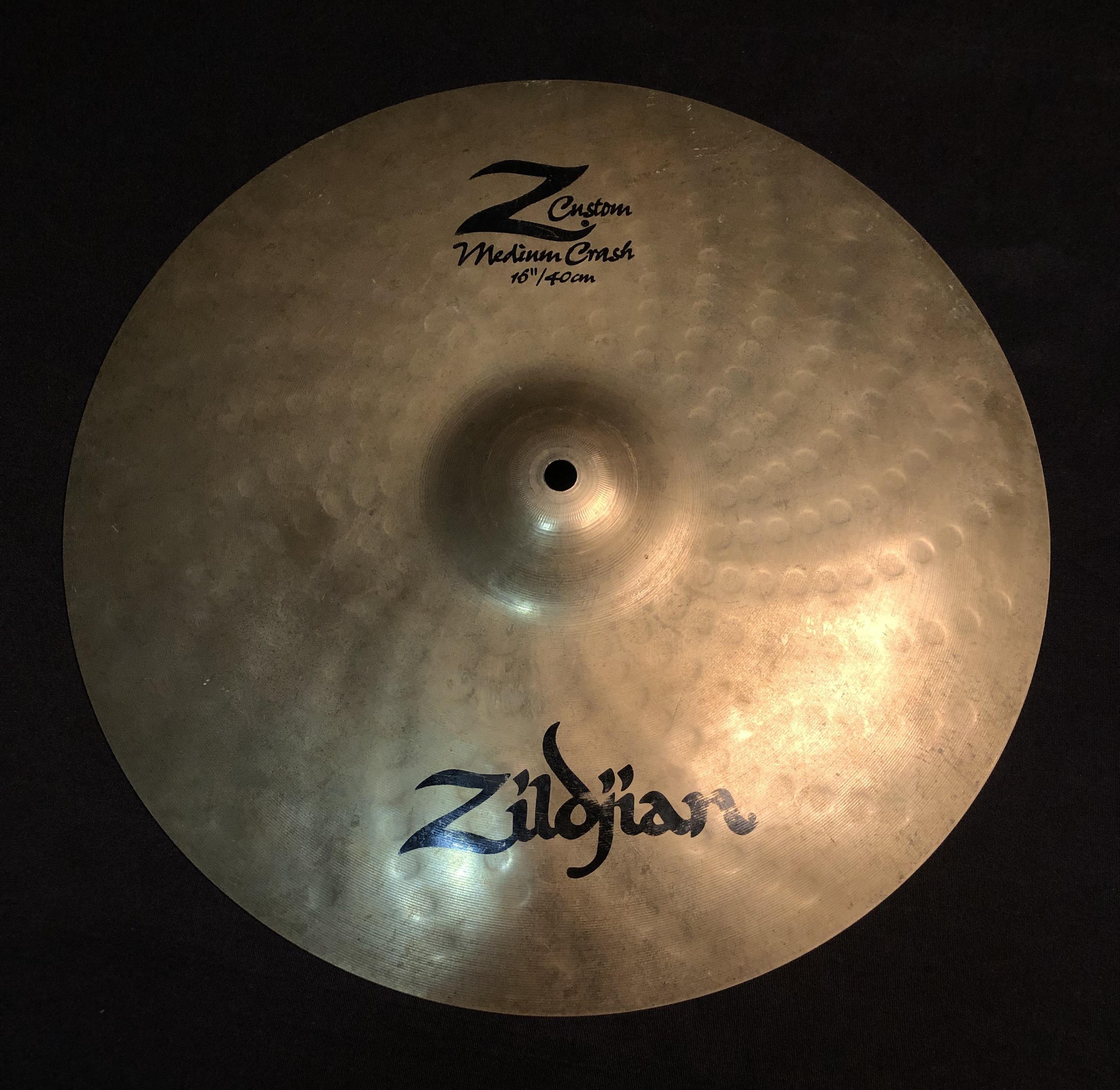ZILDJIAN - Z Custom Medium Crash Cymbal 16