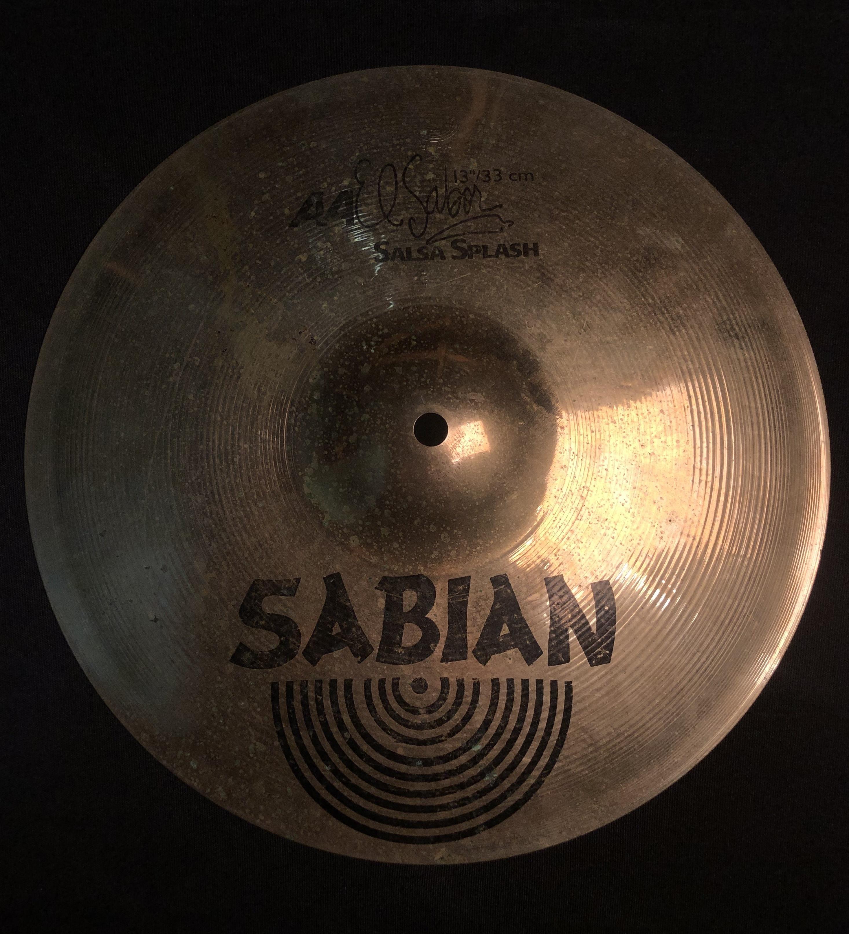 SABIAN - El Sabor Salsa Splash Cymbal 13