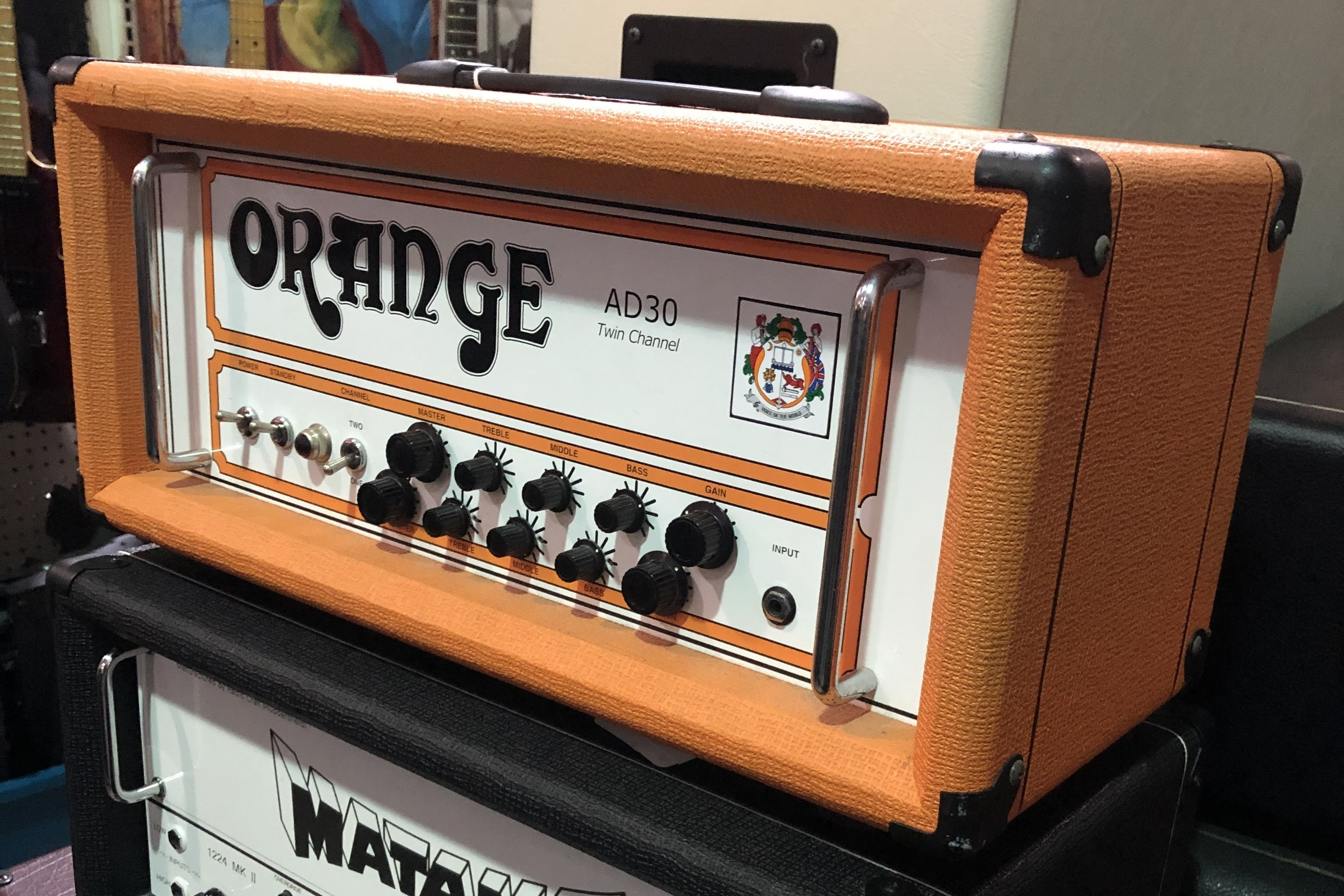 ORANGE - AD30HTC 2-Channel Guitar Head *LOCAL PICKUP ONLY*
