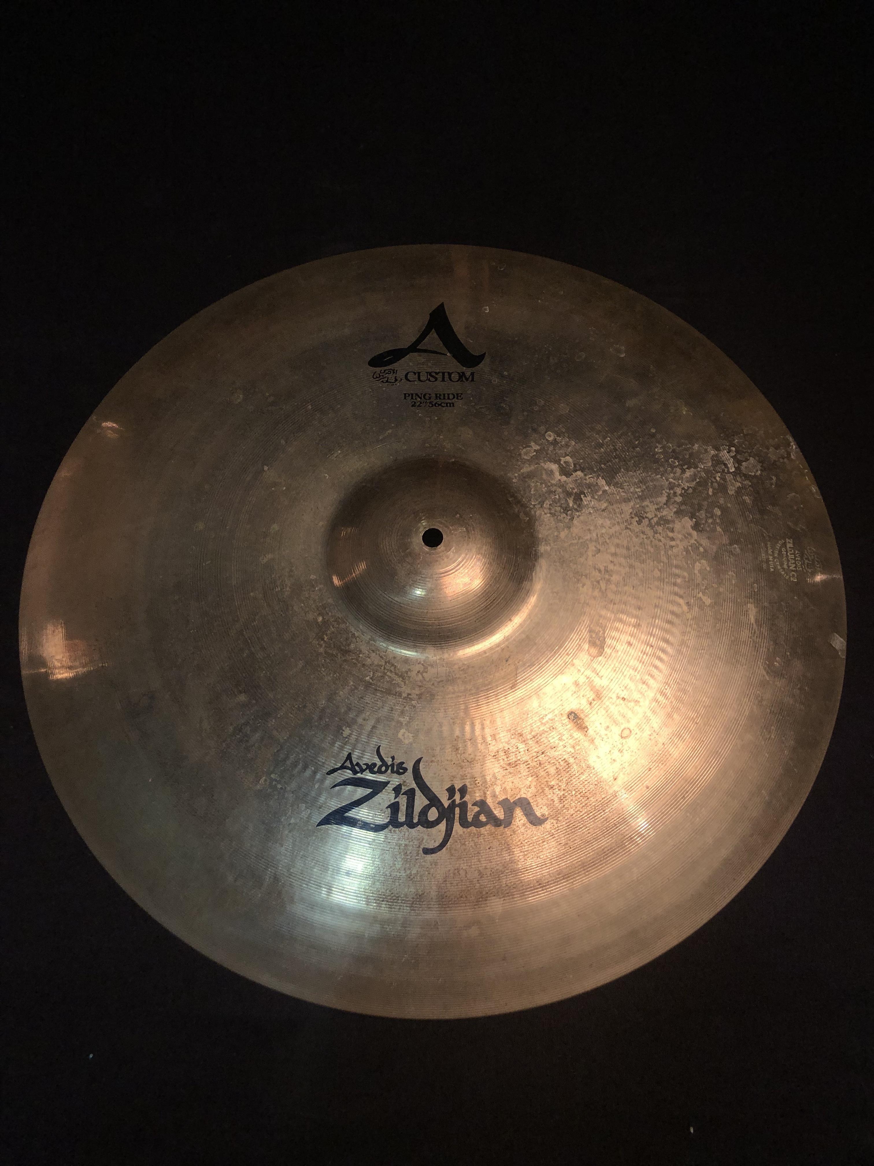 ZILDJIAN - A Custom Ping Ride Cymbal 22
