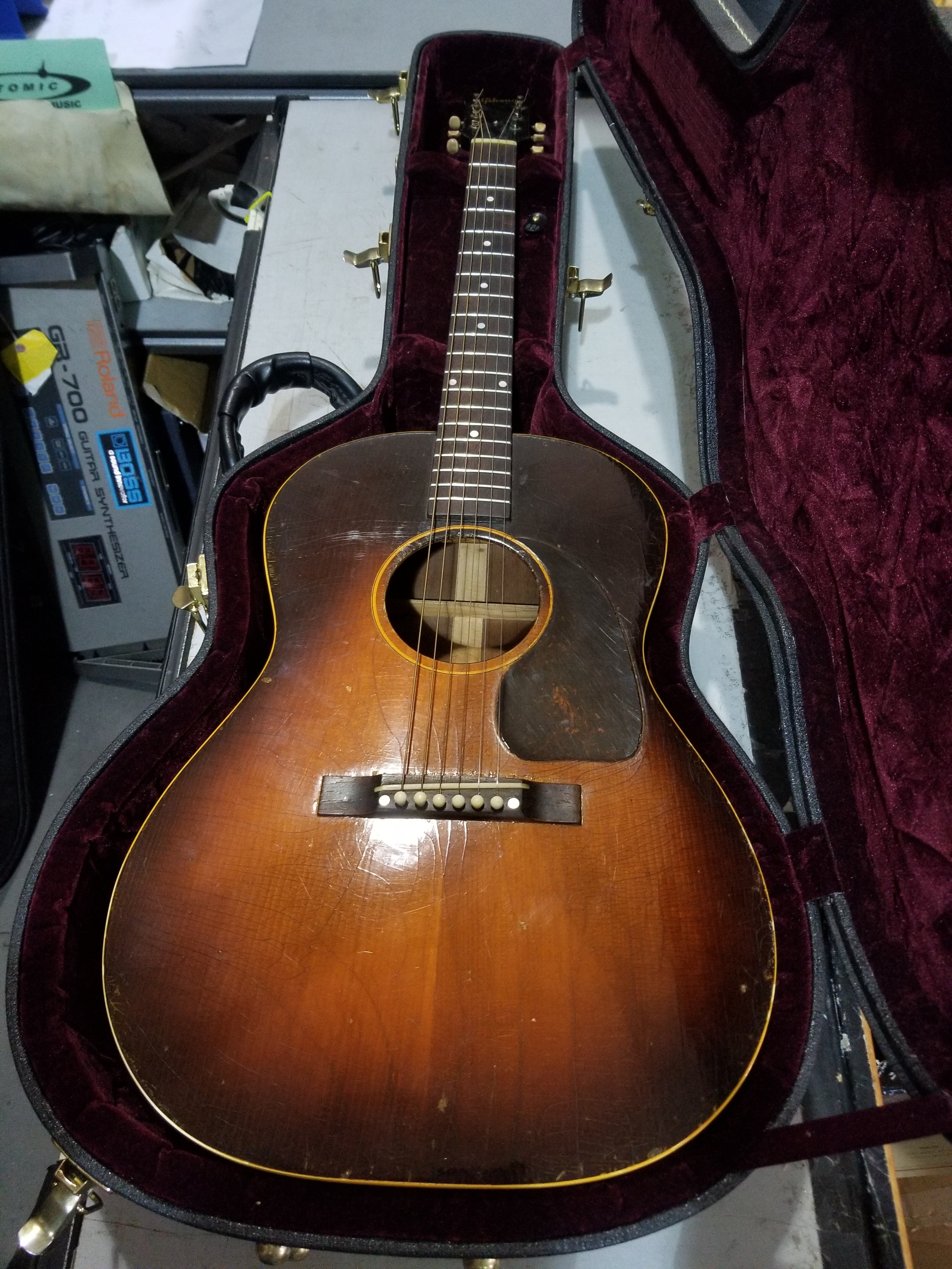 1948 GIBSON LG-2 Acoustic Guitar HSC Local Pickup Only!