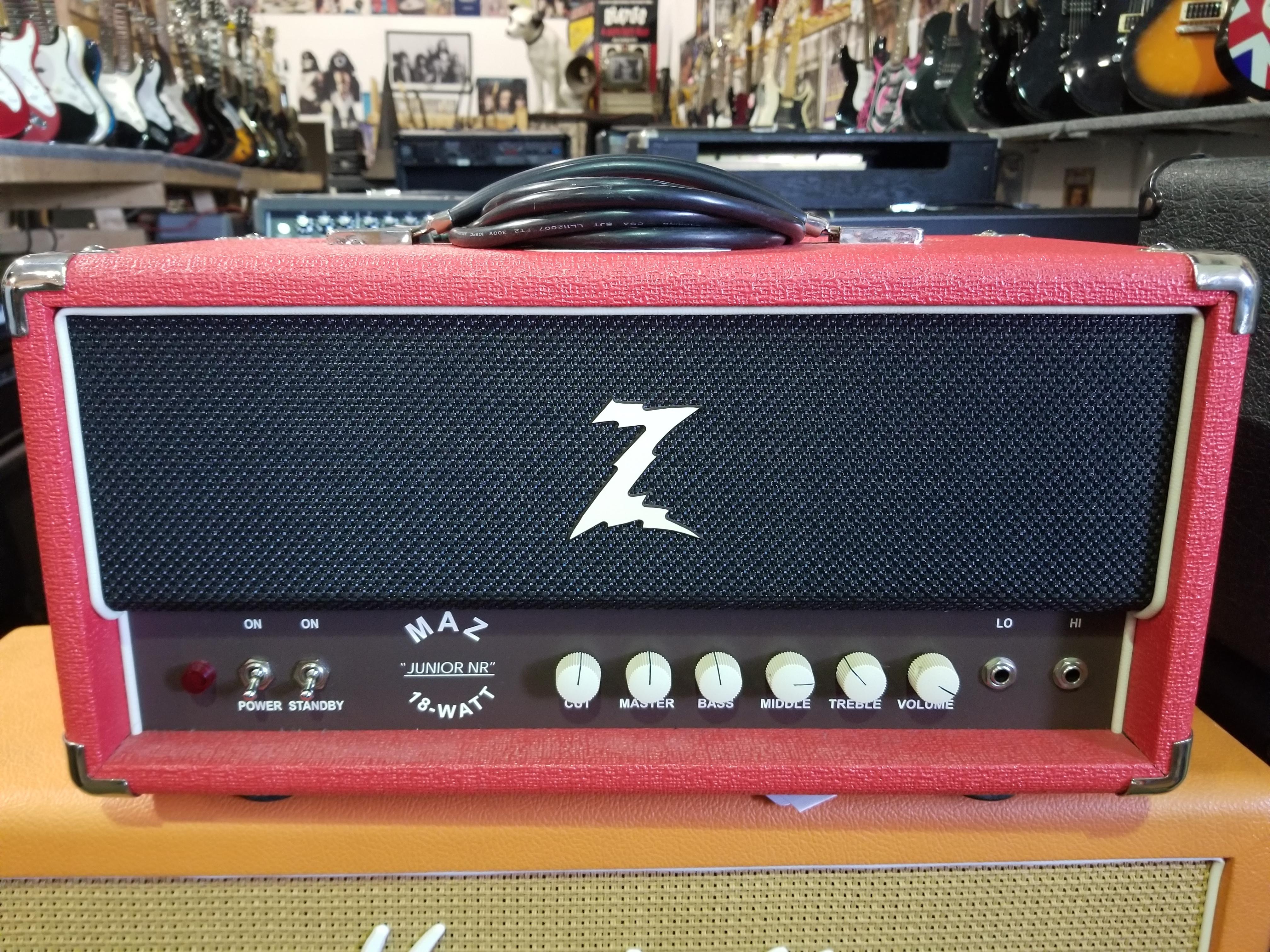 DR. Z MAZ JUNIOR NR 18-Watt Tube Amp Head - Local Pickup Only!