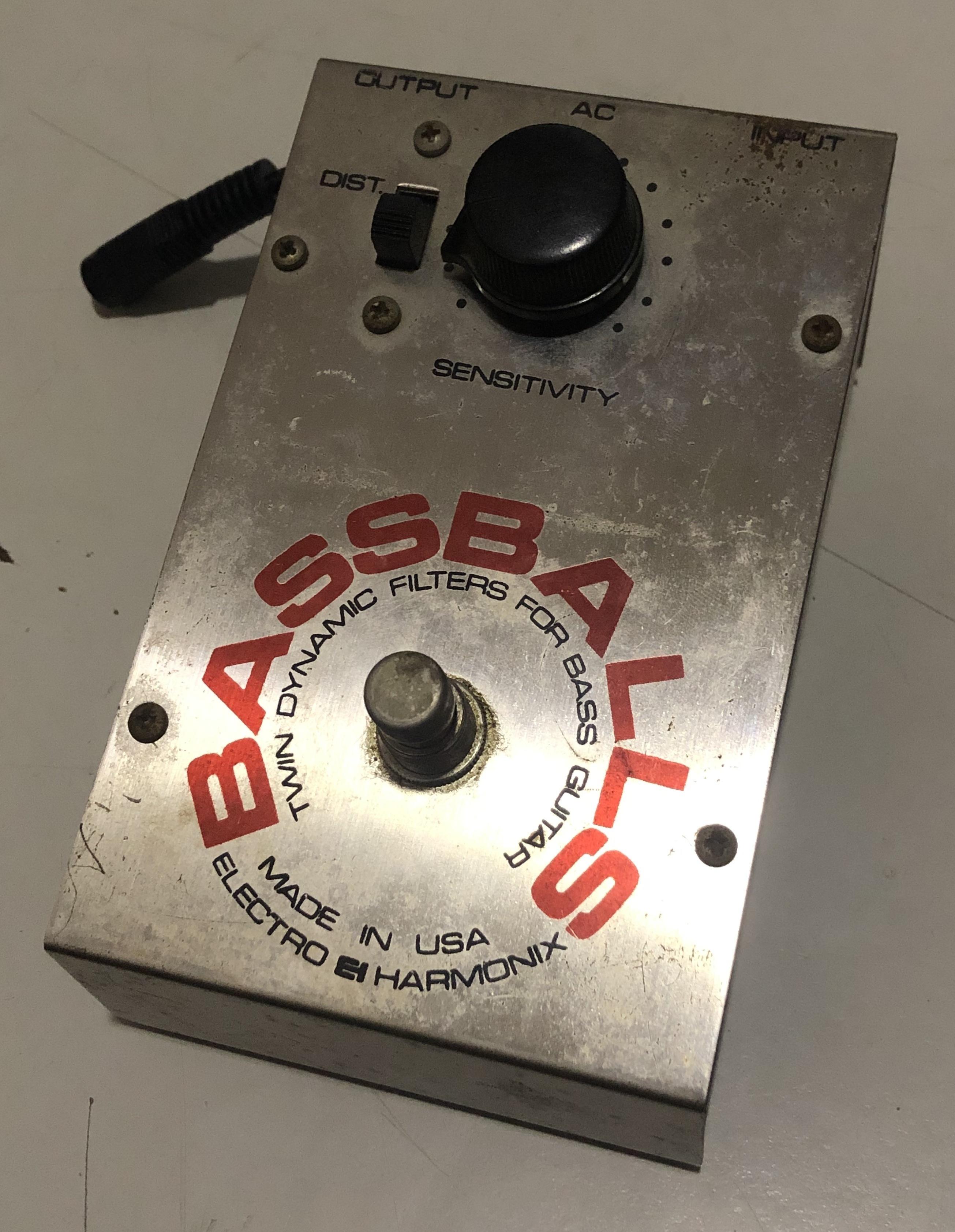 ELECTRO-HARMONIX - Bassballs Filter Bass Pedal