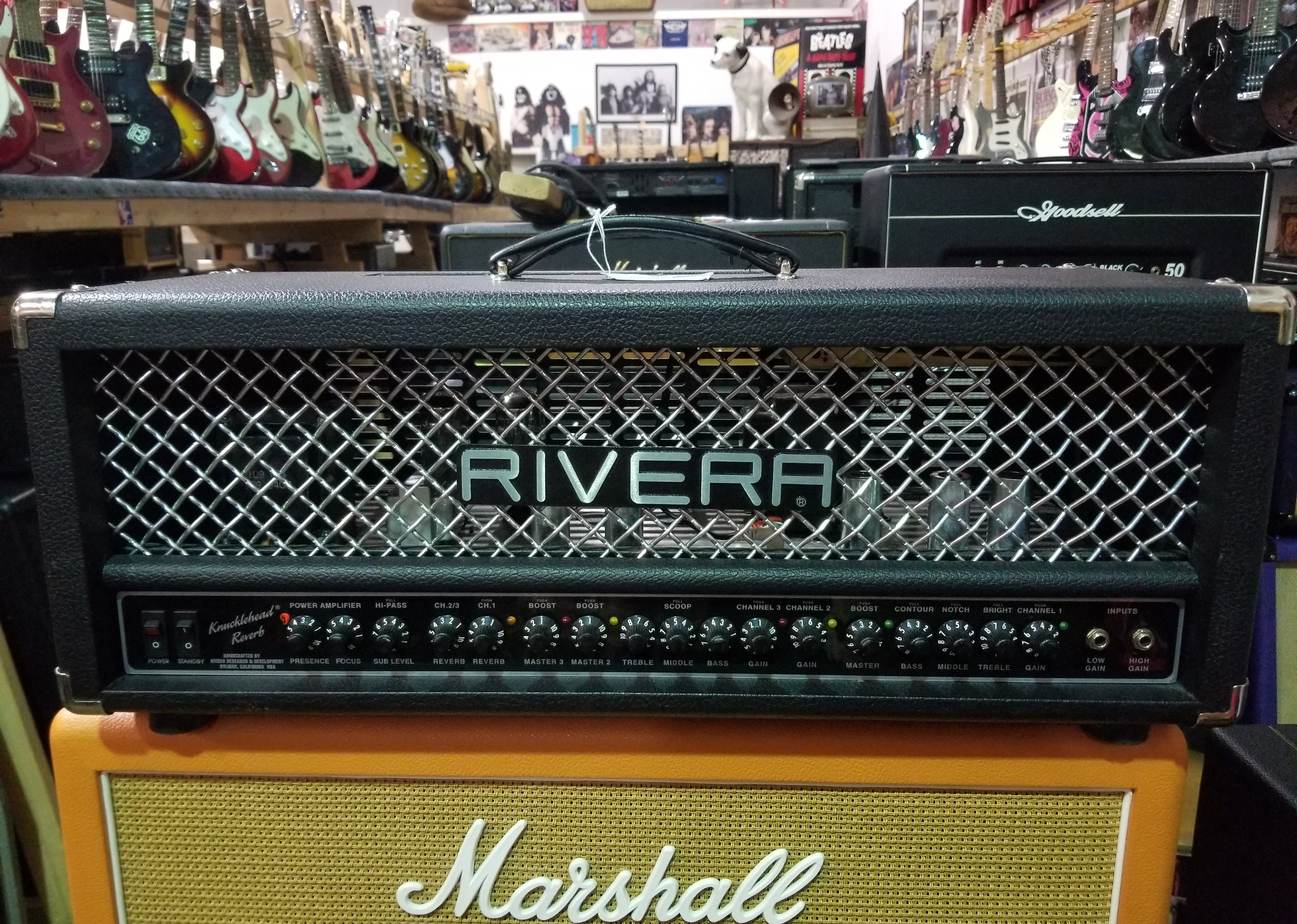 RIVERA Knucklehead Reverb 55W Tube Amp Head - Local Pickup Only!