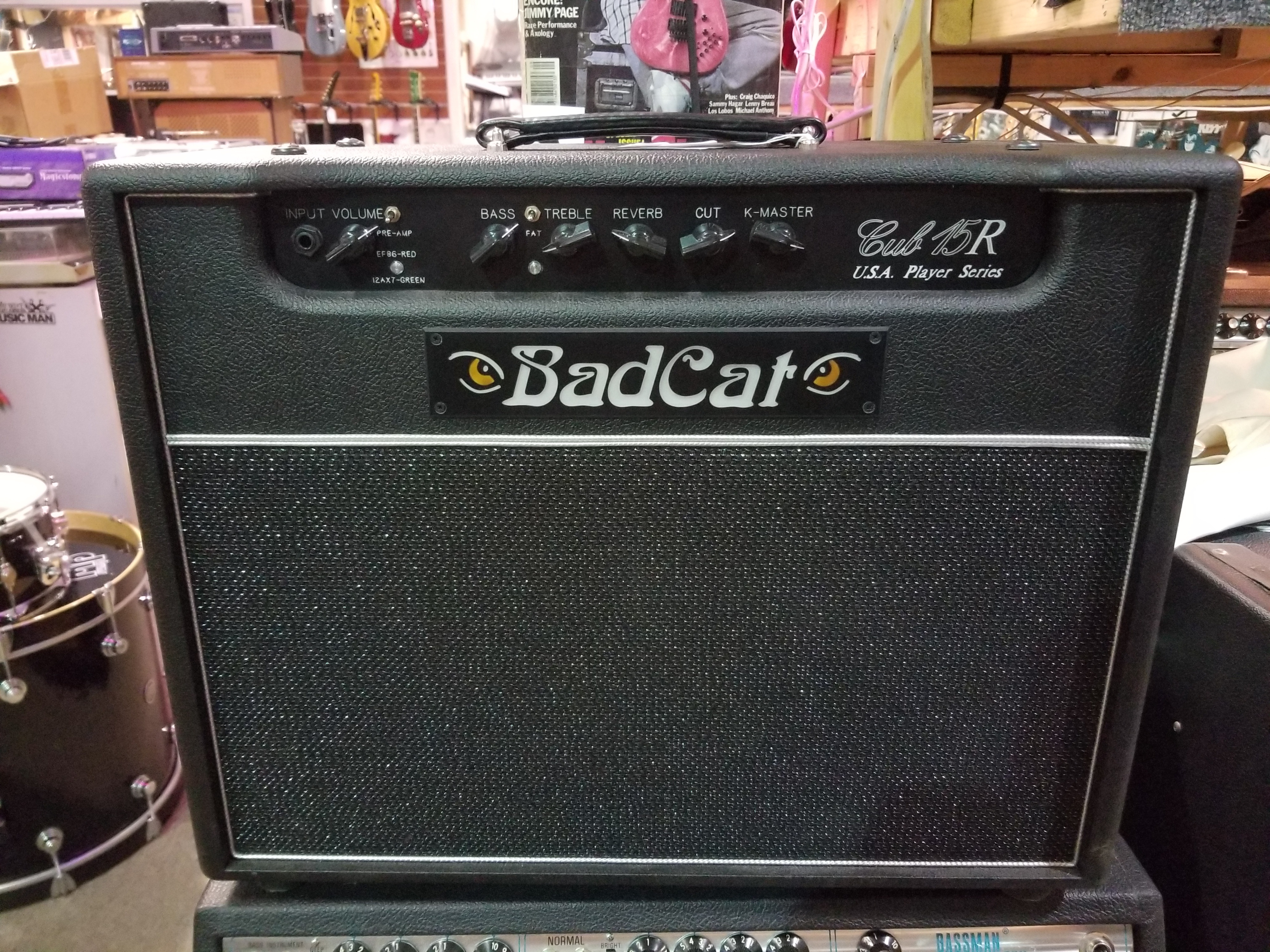 BAD CAT CUB 15R USA Player Series 15-Watt 1x12