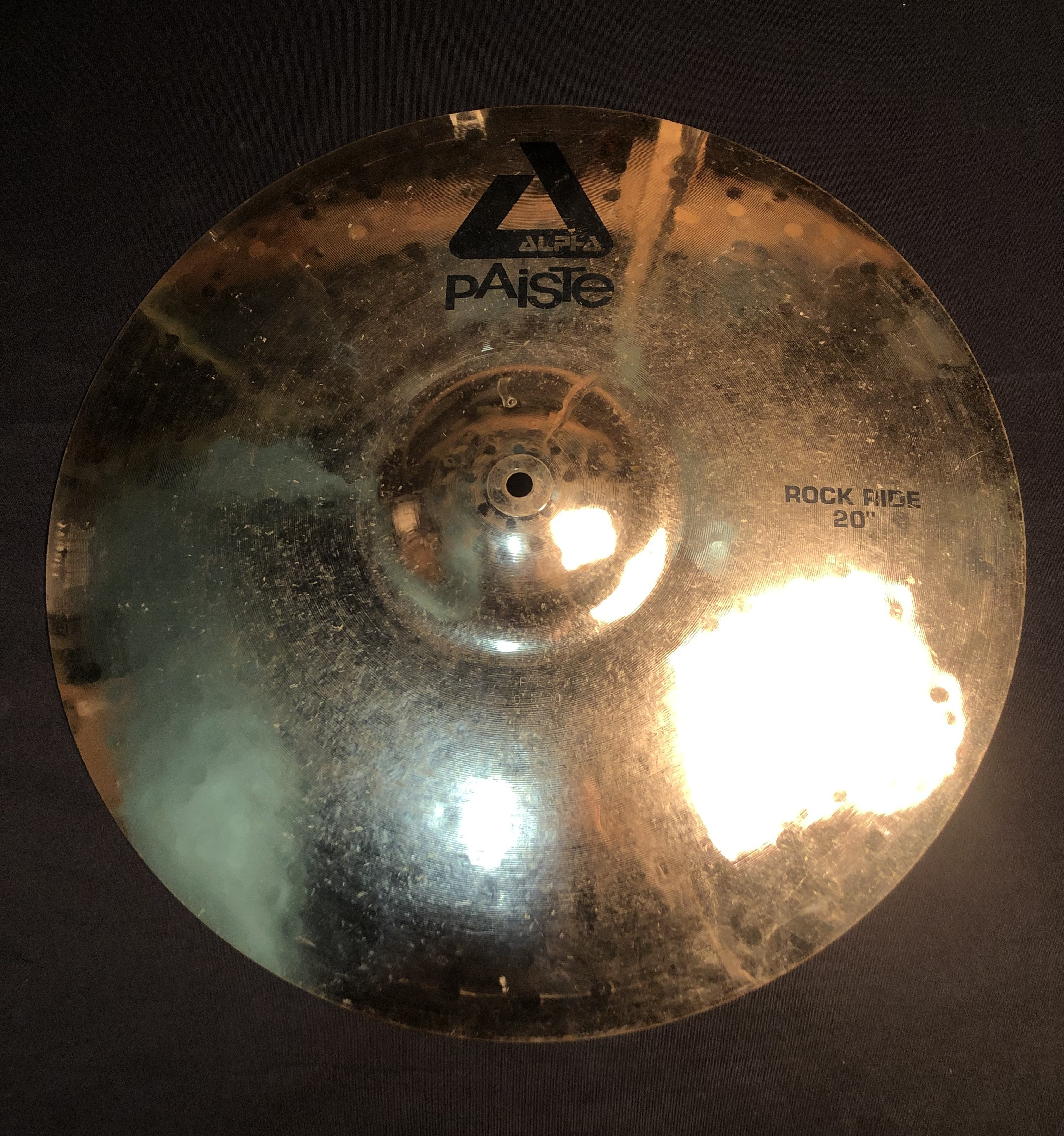 PAISTE - Alpha Rock Ride Cymbal 20
