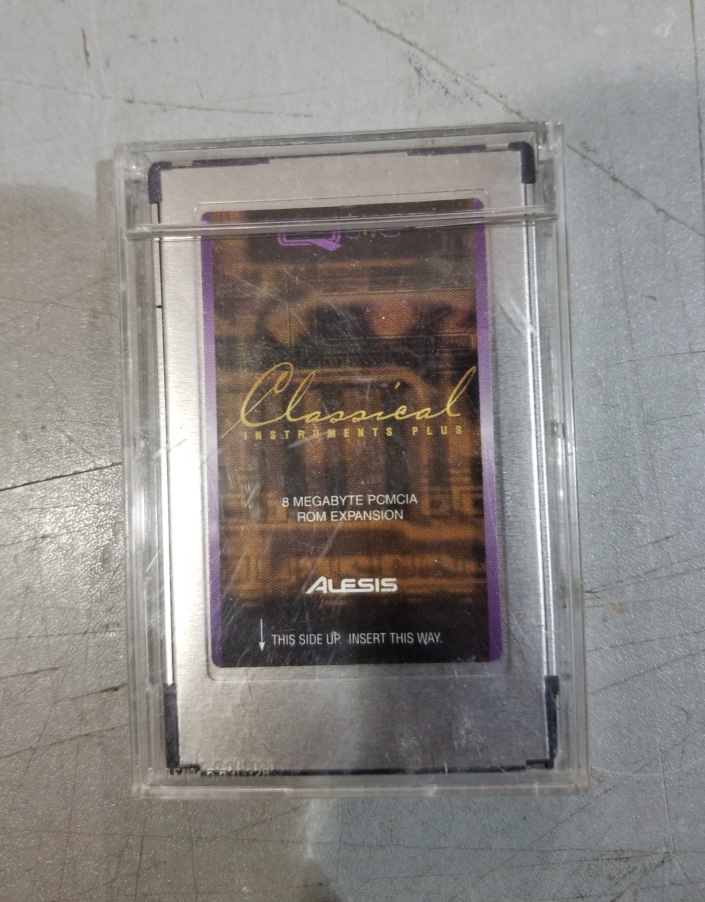 ALESIS Classical Instruments Plus Q-Card Expansion Card