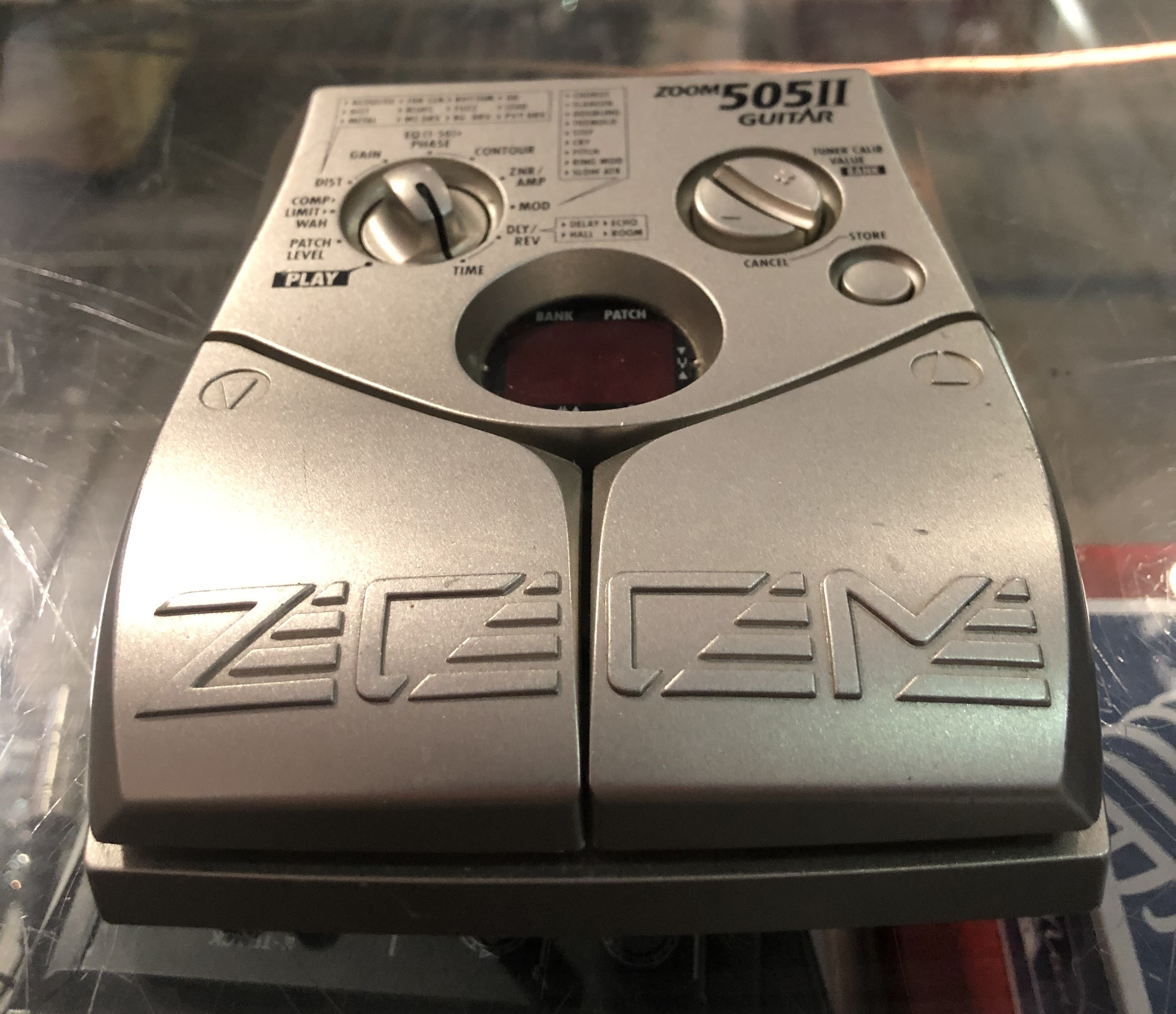 ZOOM - 505II Guitar Compact Multi-Effects Pedal