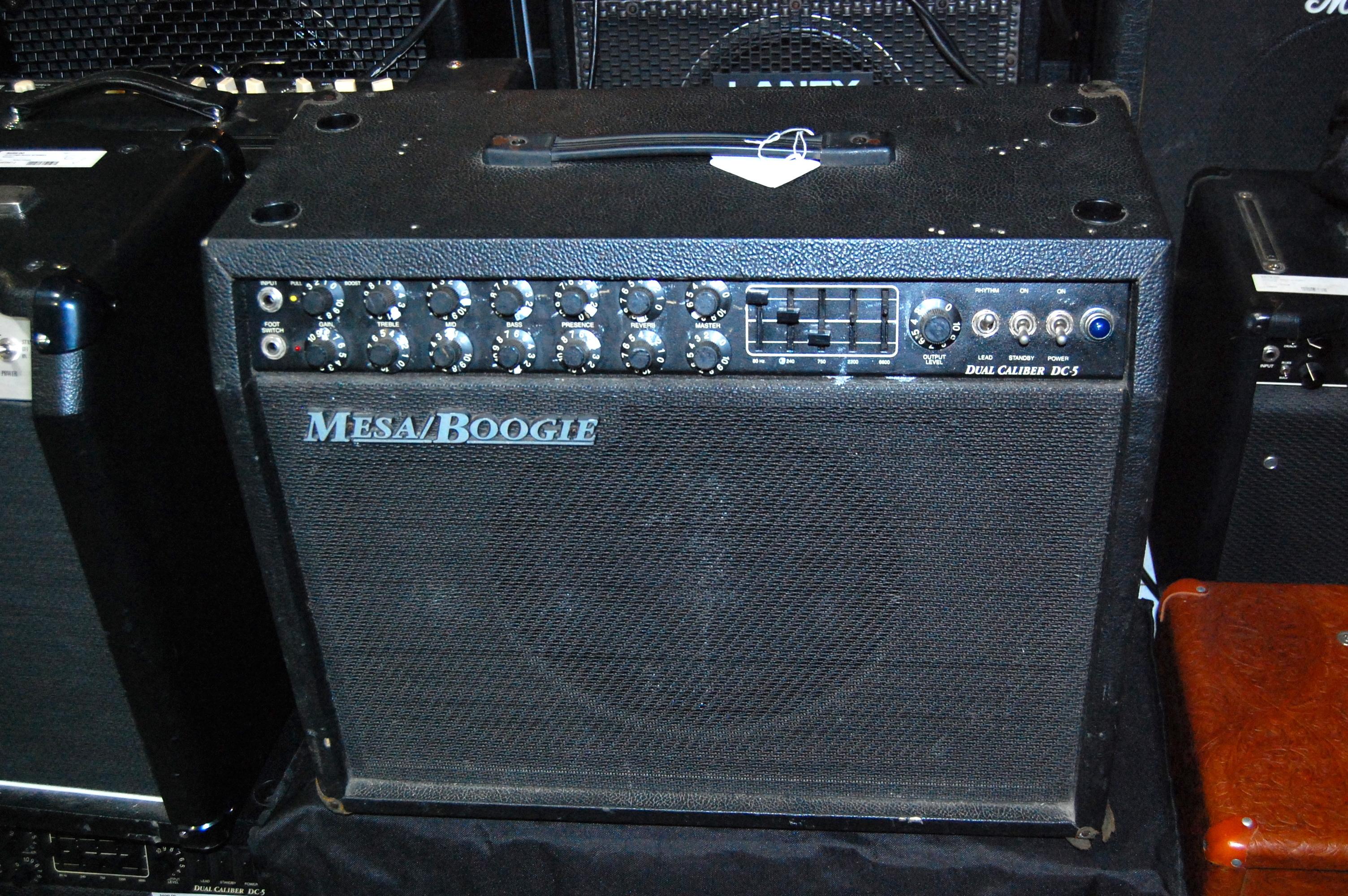 Mesa Boogie Dual Caliber DC-5 Tube Guitar Combo Amplifier Amp