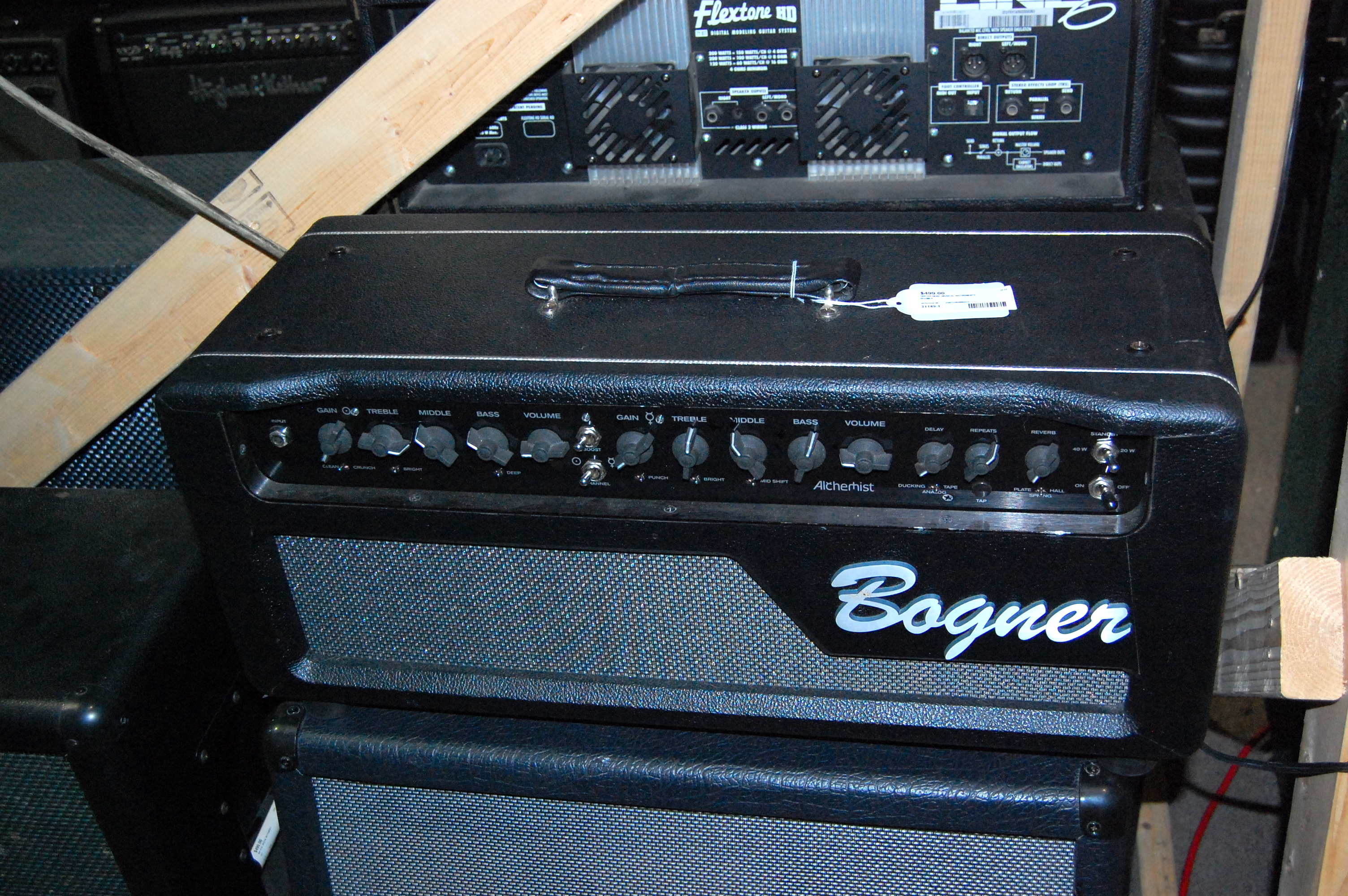 Bogner Alchemist 40W Tube Guitar Amplifier Amp Head