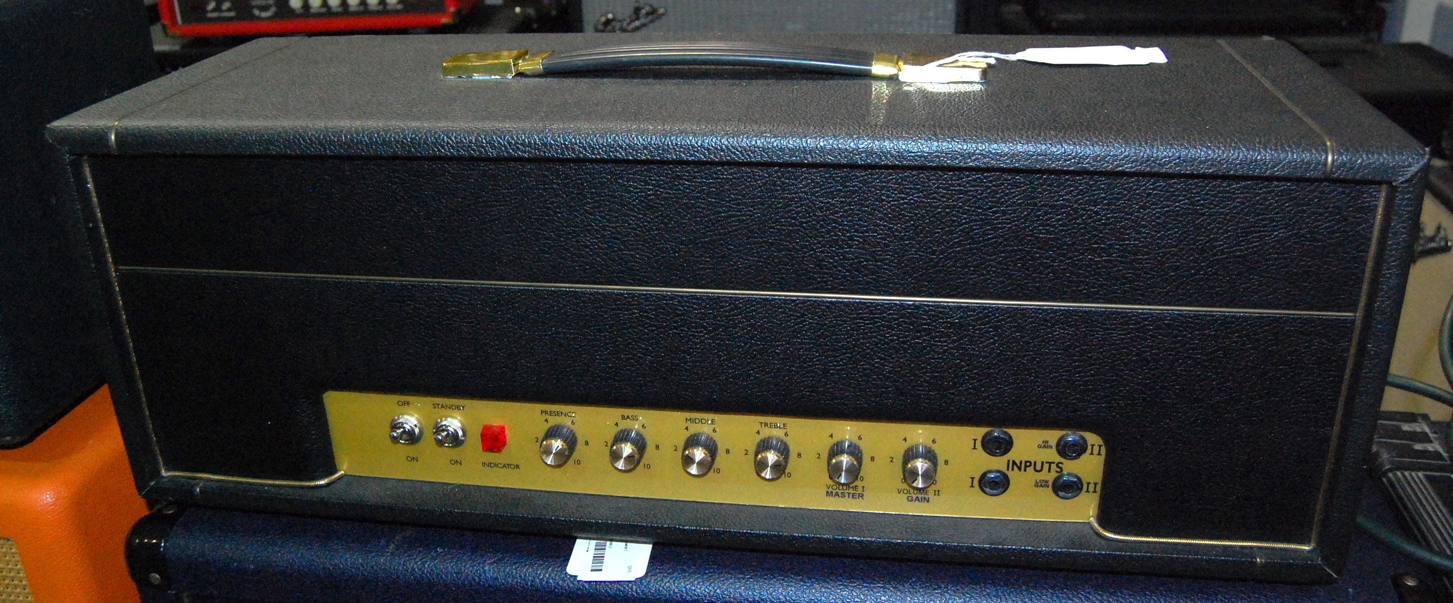 ROCKITT RETRO RR50 Handbuilt Plexi Replica 50W Tube Guitar Amplifier Amp Head DAVID HOPKINS PANDORA MOD