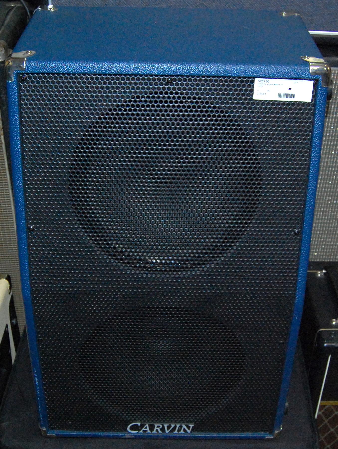 CARVIN USA Vertical 2x12 212 Guitar Speaker Cabinet Cab