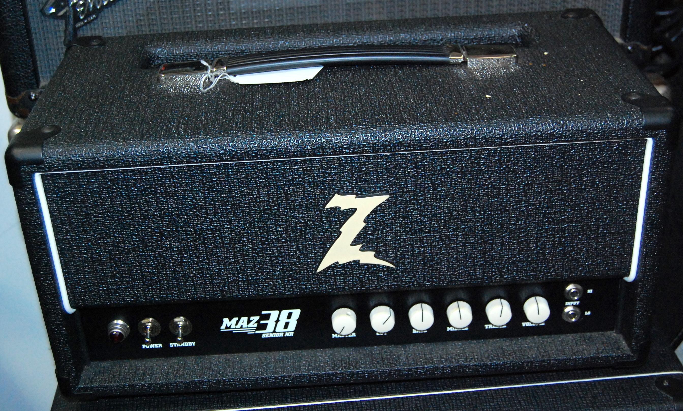 DR. Z MAZ 38 SENIOR NR Tube Guitar Amplifier Amp Head