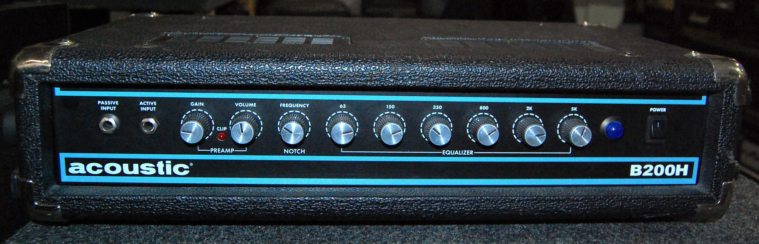 ACOUSTIC B200H 200W Bass Guitar Amplifier Amp Head
