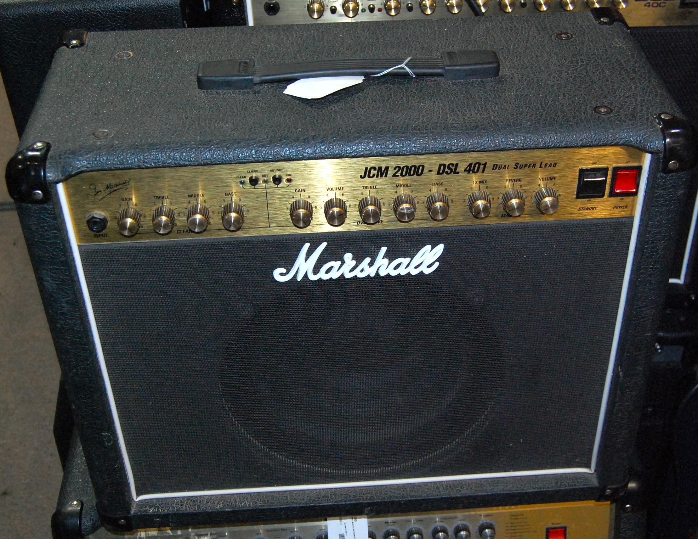 MARSHALL JCM2000 Dual Super Lead DSL401 JCM 2000 DSL 401 Tube Guitar Combo Amplifier Amp