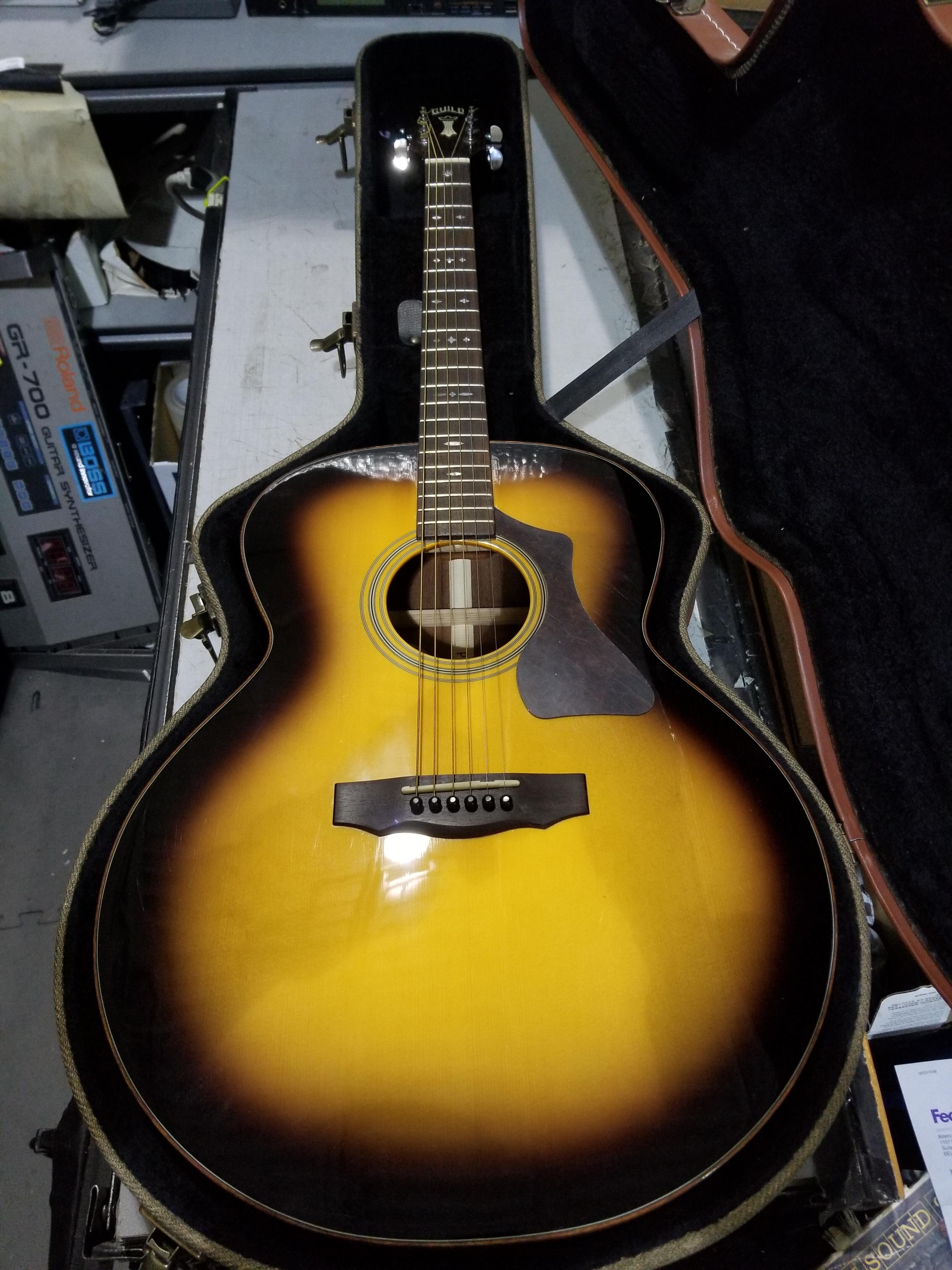 GUILD GAD-JF48ATB Acoustic Guitar Sunburst HSC