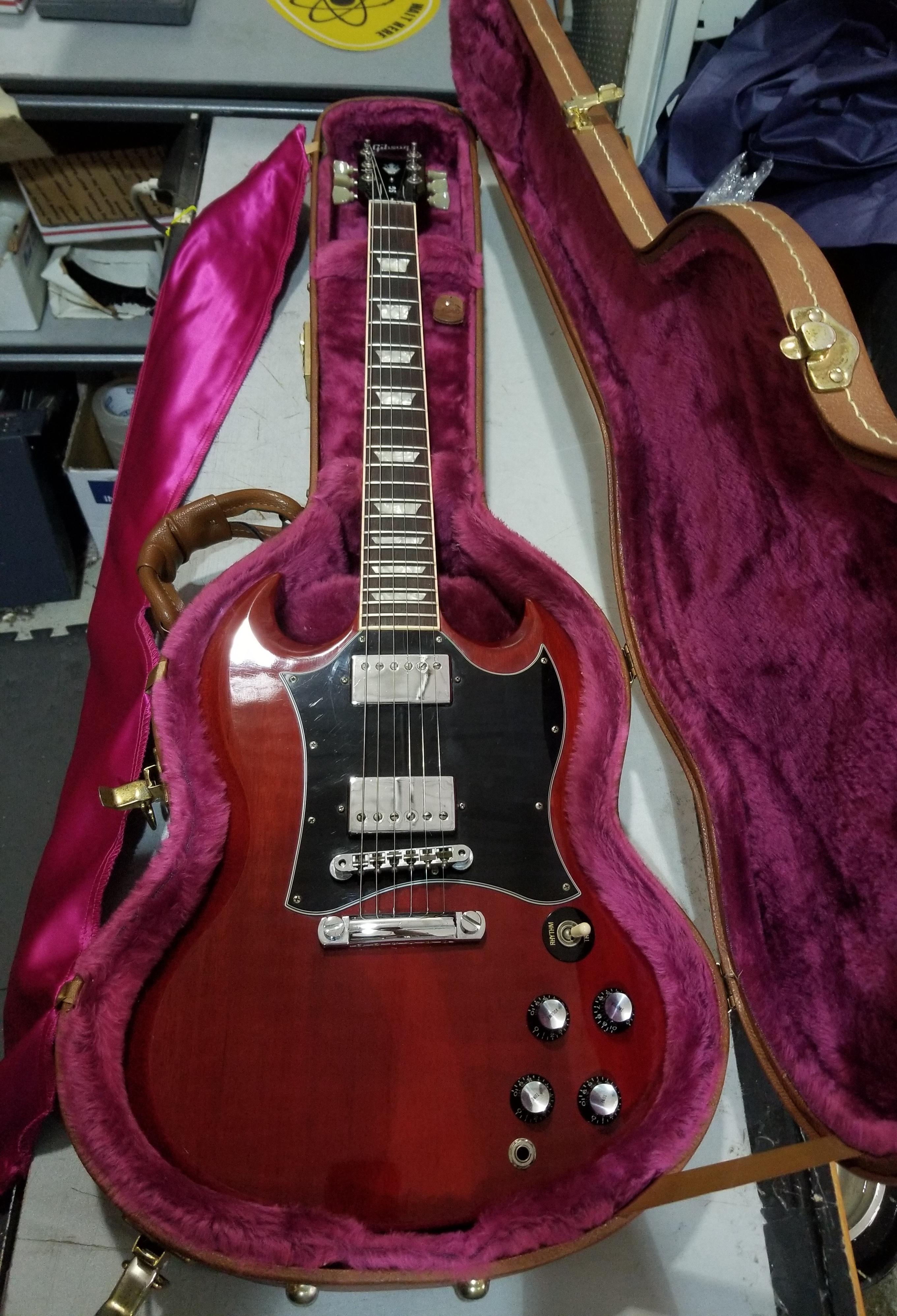 GIBSON SG Standard Electric Guitar Cherry HSC 1999