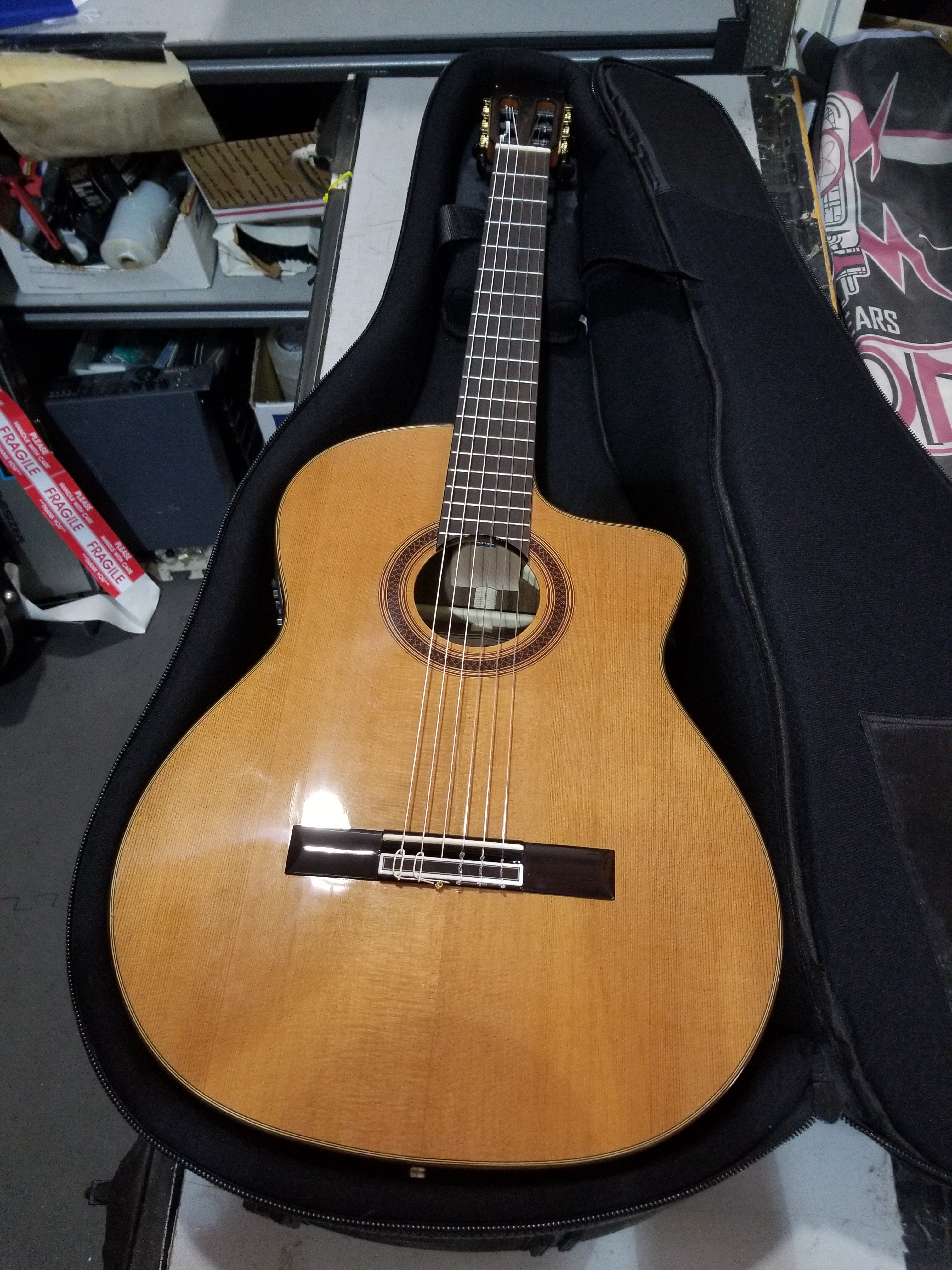 CORDOBA C7-CE Acoustic-Electric Nylon-string Classical Guitar