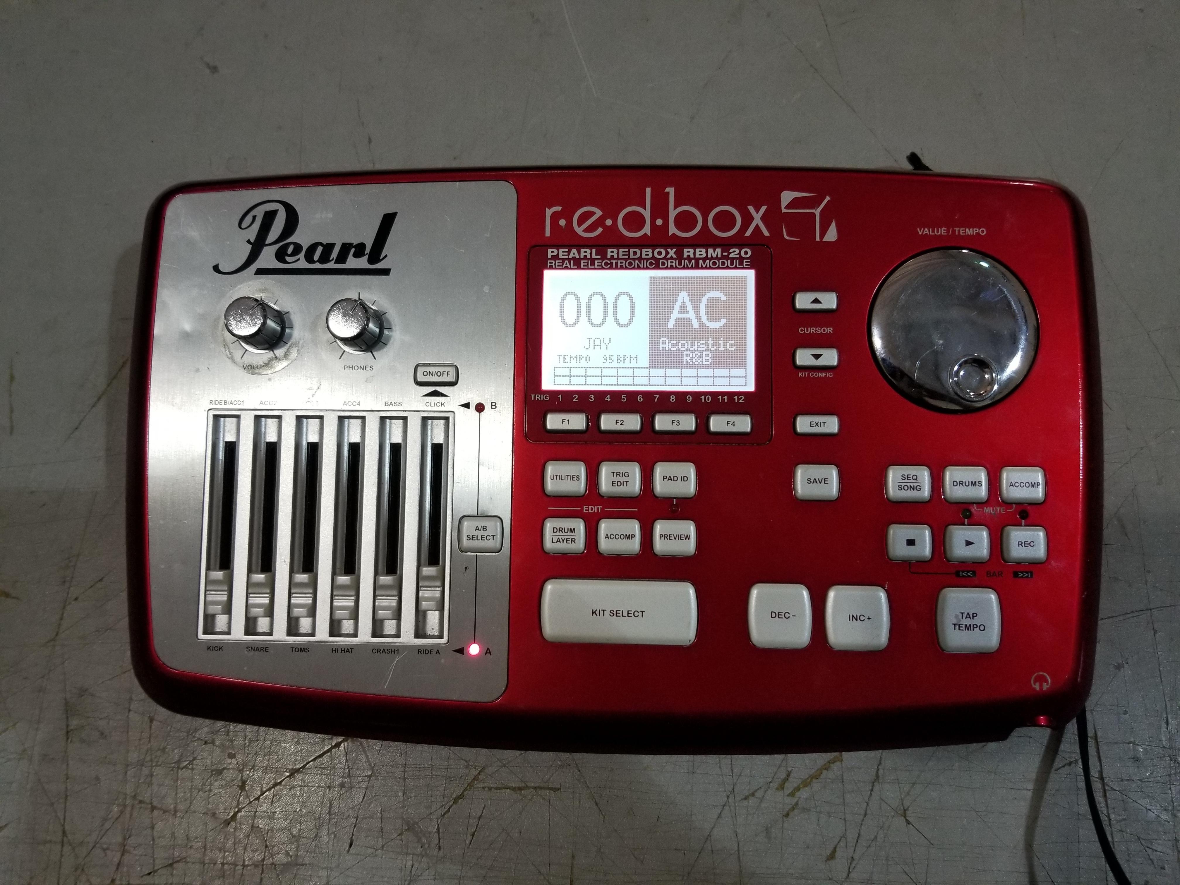 PEARL r.e.d.box RBM-20 Drum Module