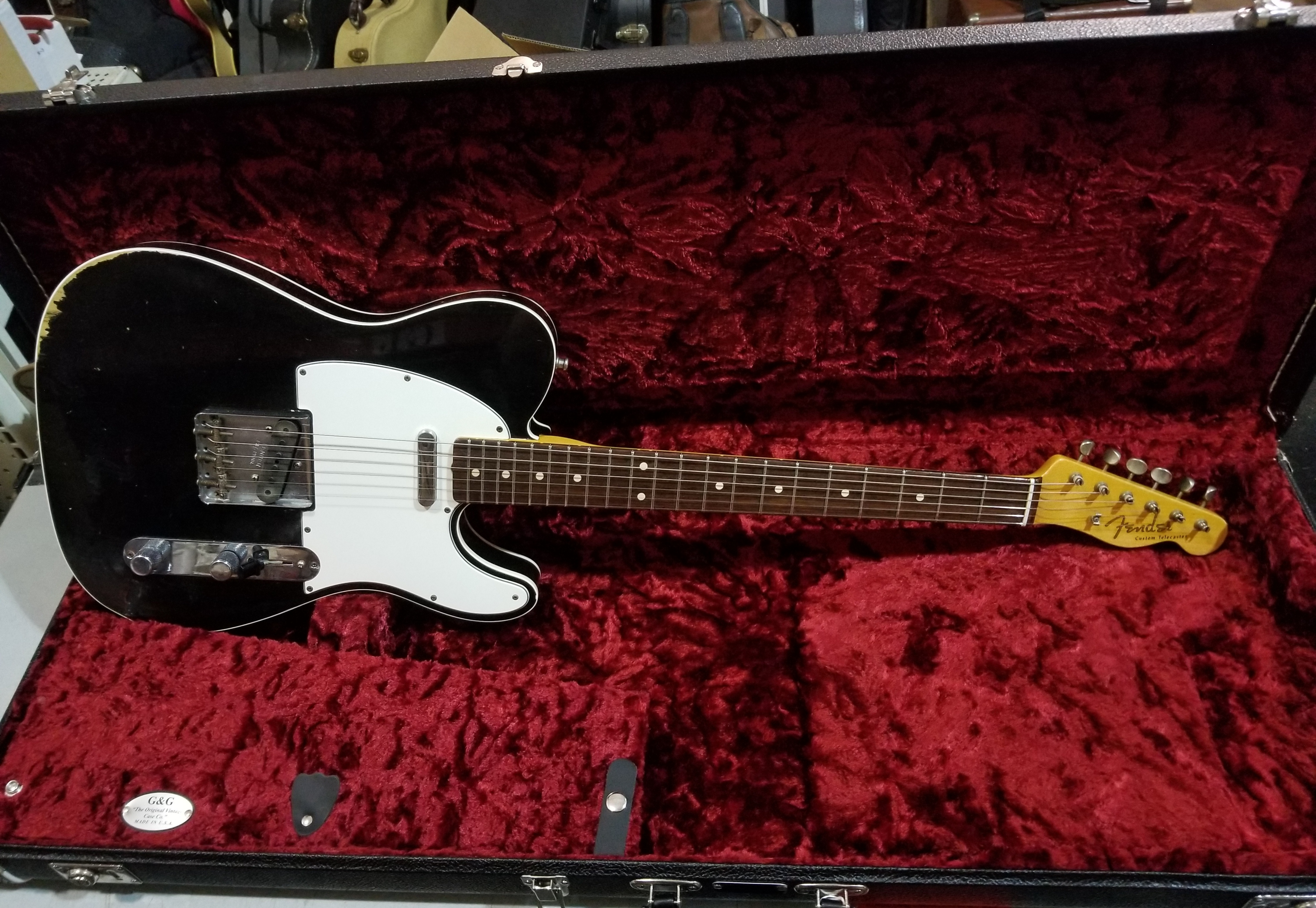 FENDER Custom Shop '61 Telecaster Relic Electric Guitar HSC 2012