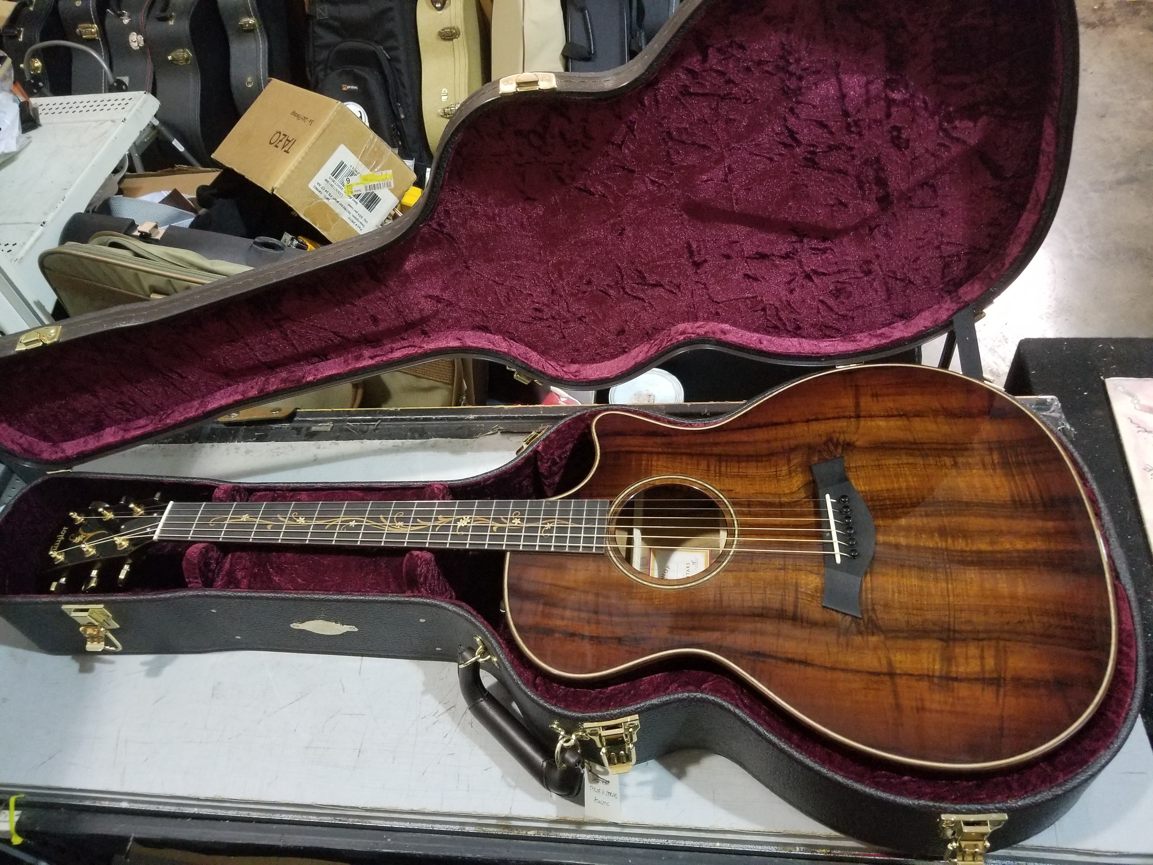 TAYLOR K24 CE Wildwood Hawaiian Koa Acoustic Guitar HSC 2013