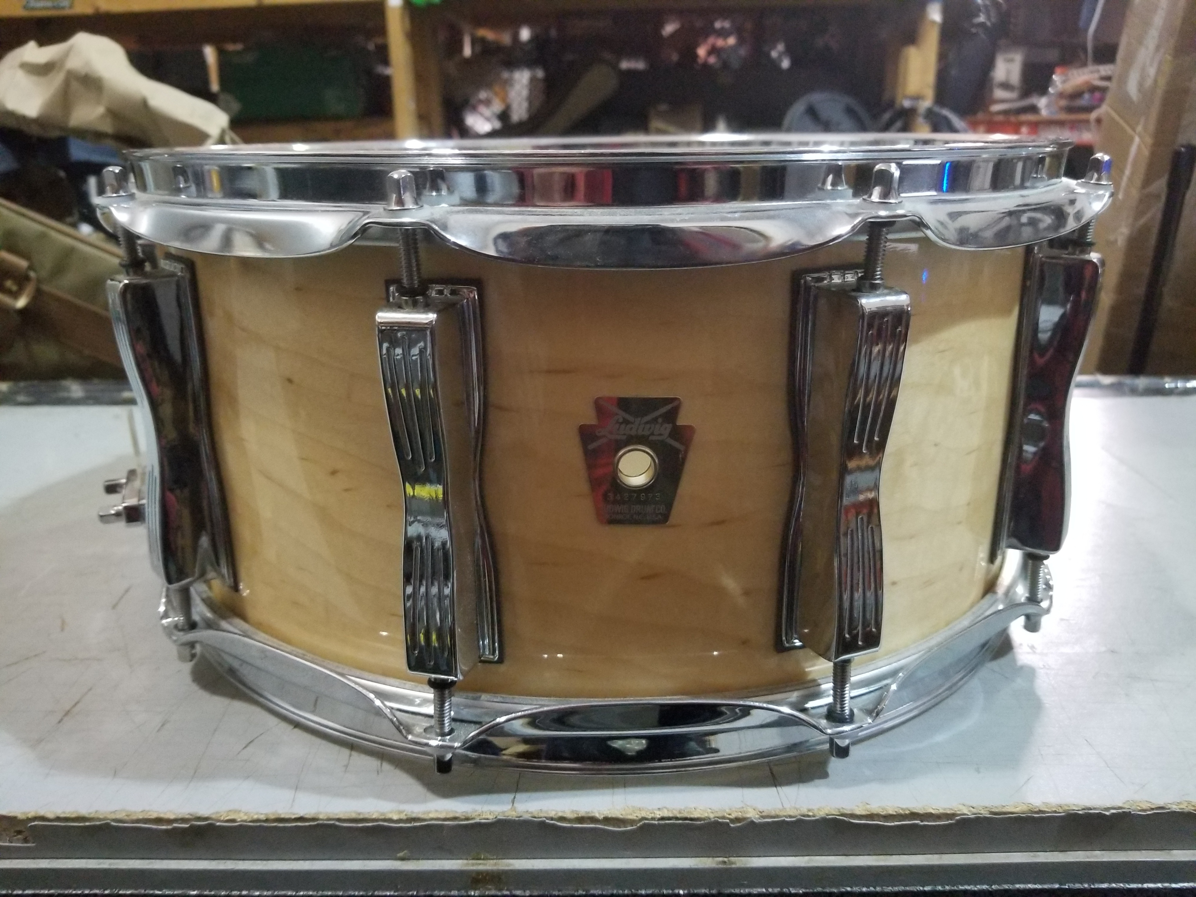 LUDWIG Classic Maple Snare Drum 6.5