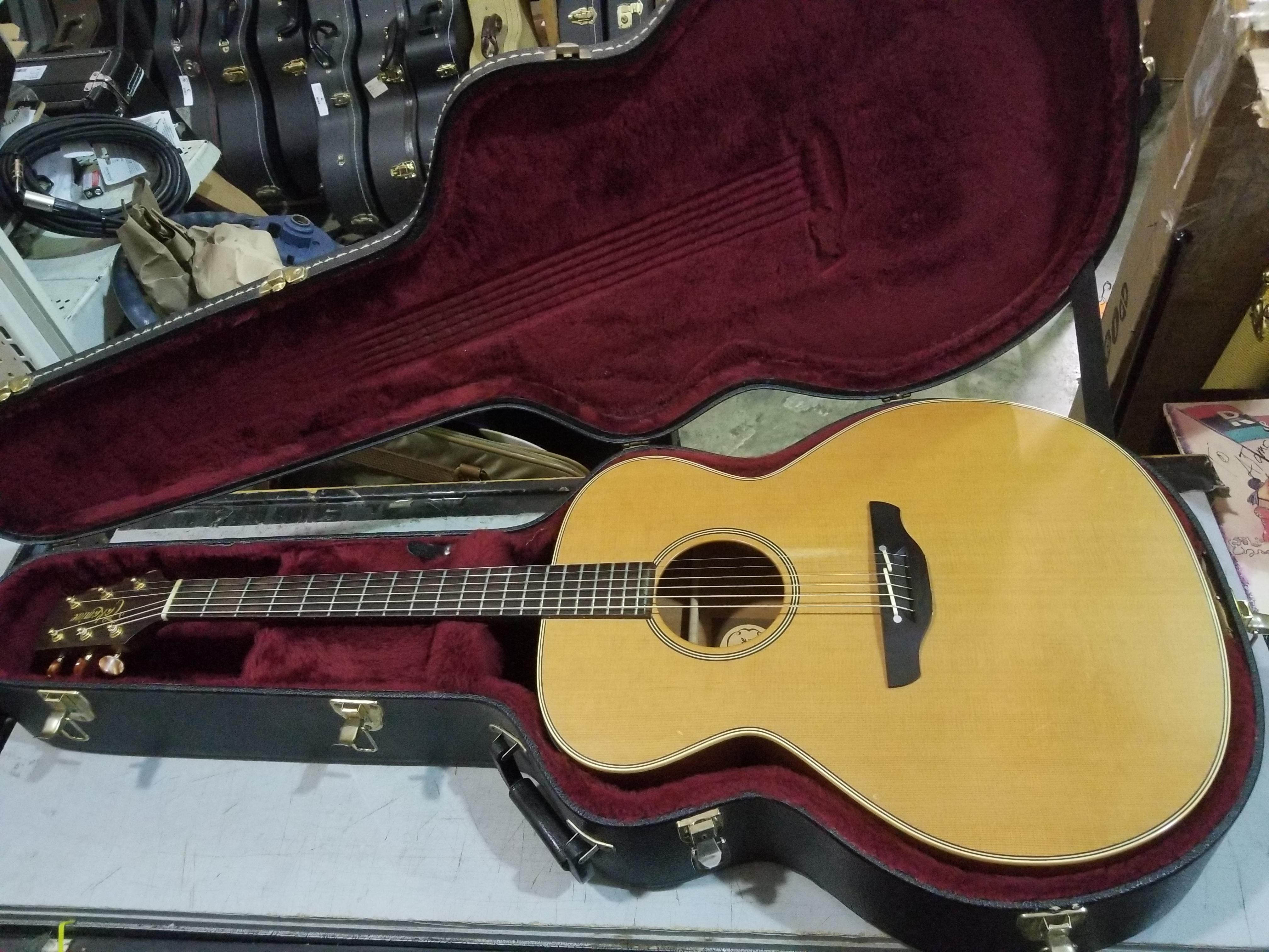 TAKAMINE EN-20 Jumbo Acoustic-Electric Guitar HSC 1992 Made in Japan MIJ
