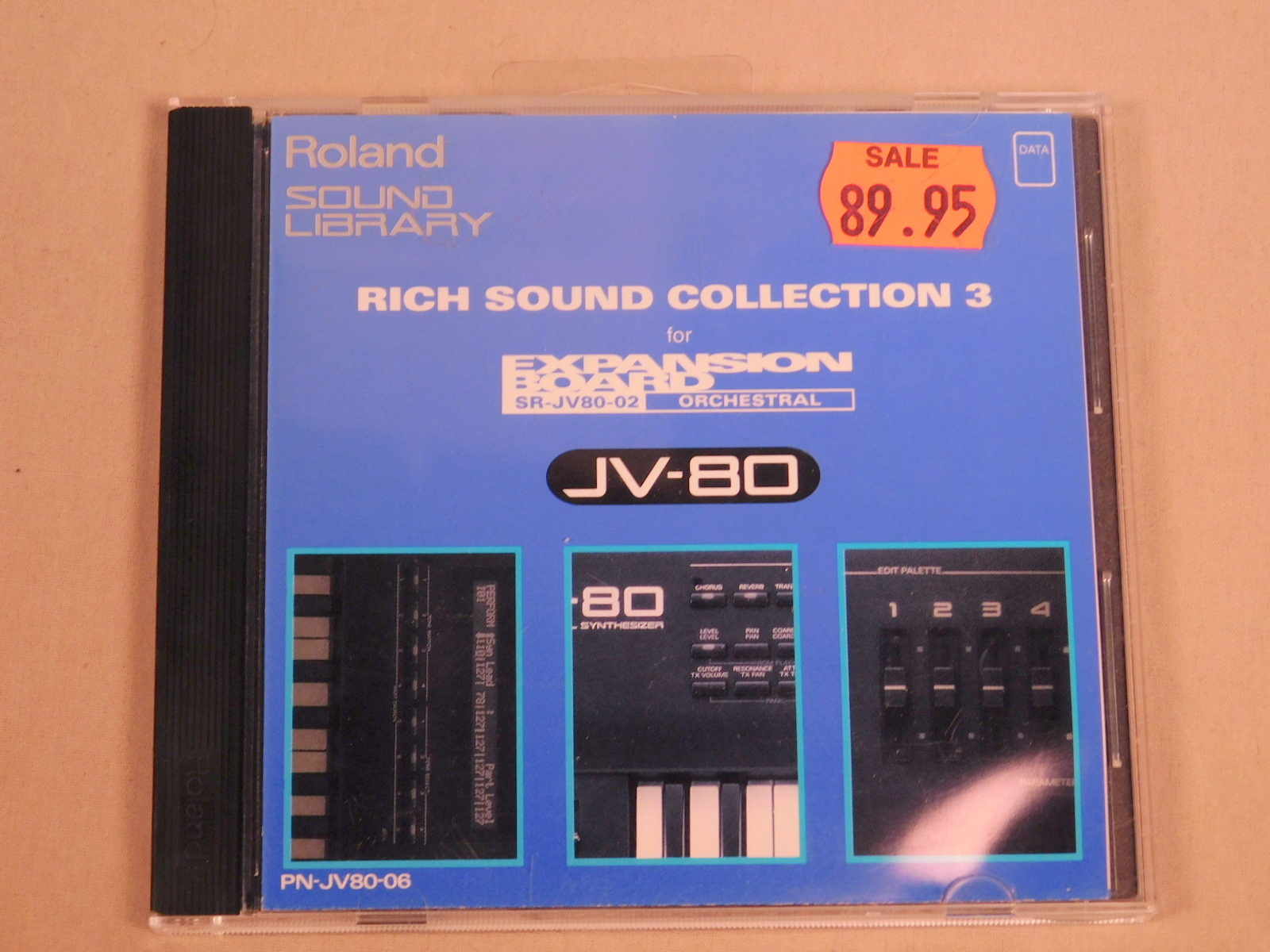 ROLAND PN-JV80-06 RICH SOUND COLLECTION 3 III EXPANSION BOARD FOR JV-80