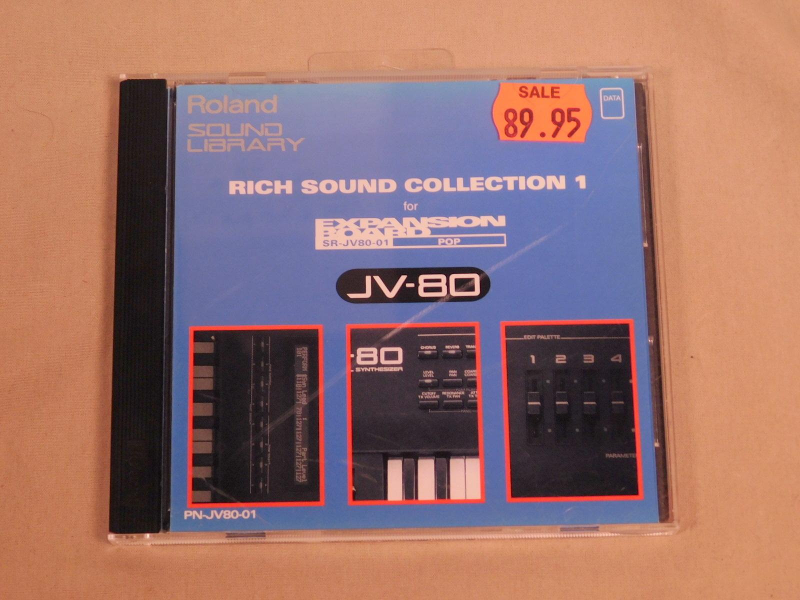 ROLAND SR-JV80-01 RICH SOUND COLLECTION 1 ONE EXPANSION BOARD FOR JV-80