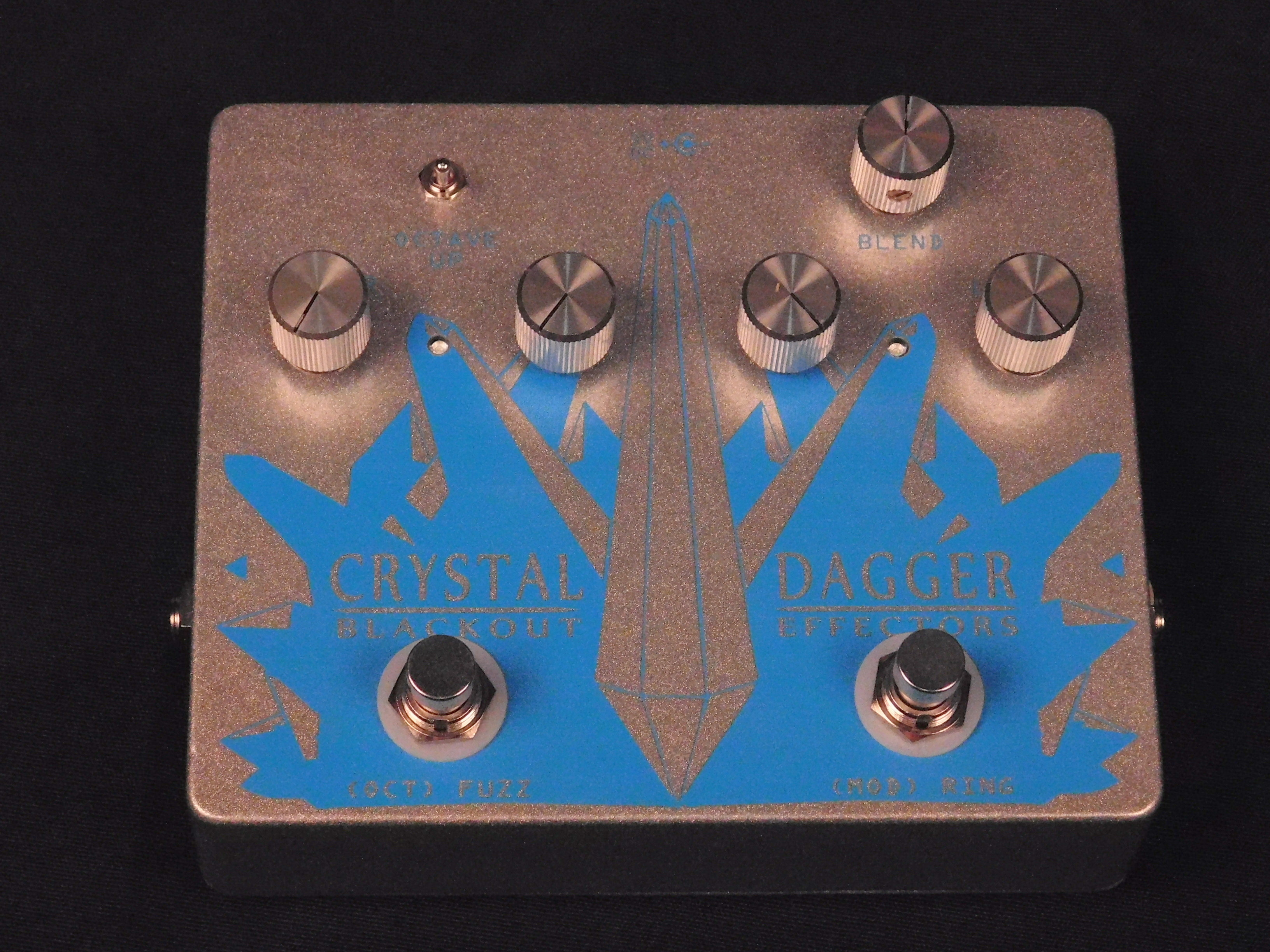 BLACKOUT CRYSTAL DAGGER Fuzz & Overdrive