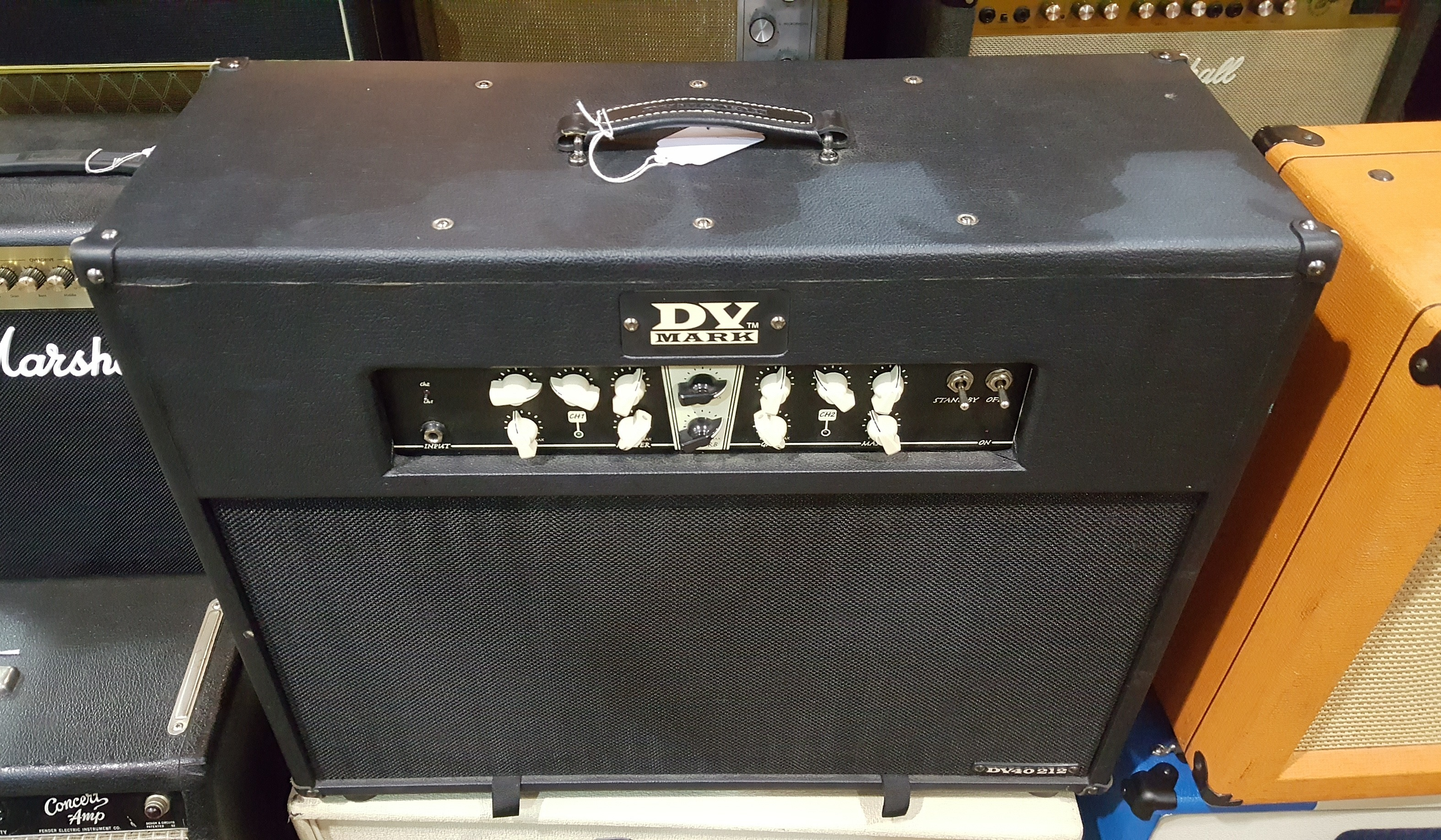 DV MARK DV40 212 40-Watt 2x12 Tube Guitar Amp Combo **PICKUP ONLY**