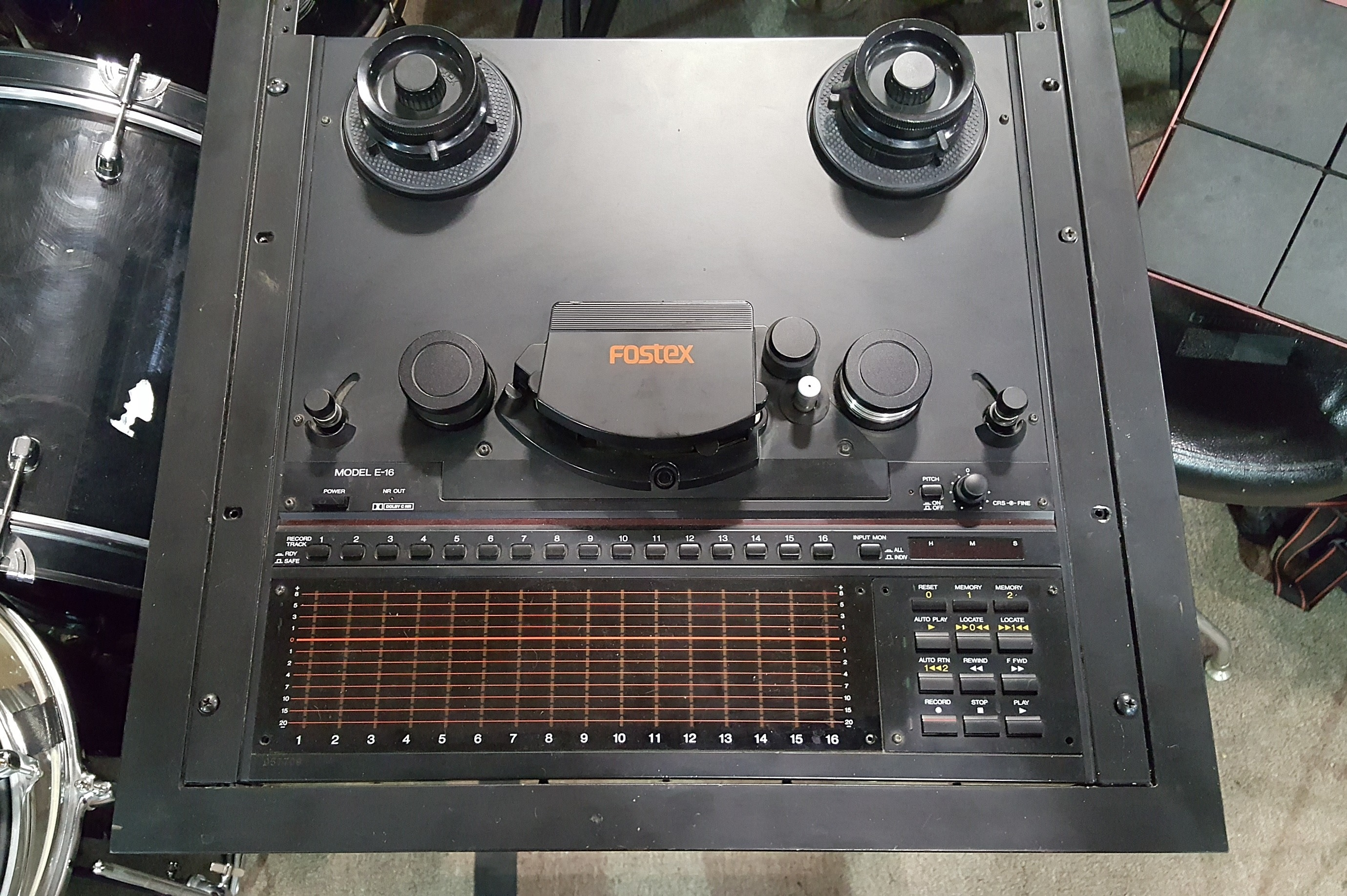 FOSTEX E-16 16-Track Reel-to-Reel Tape Recorder **PICKUP ONLY**