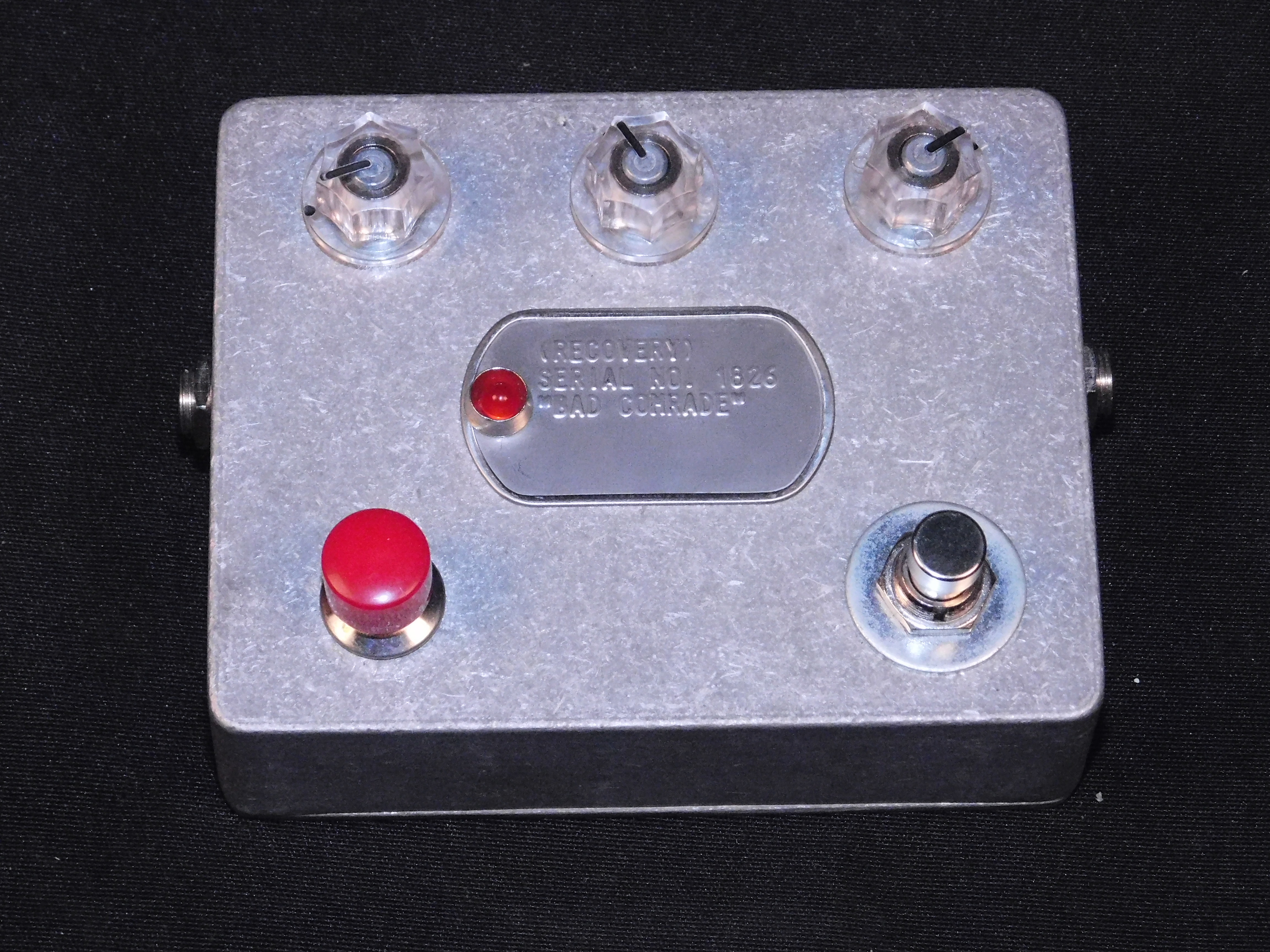 RECOVERY EFFECTS BAD COMRADE Fx PEDAL